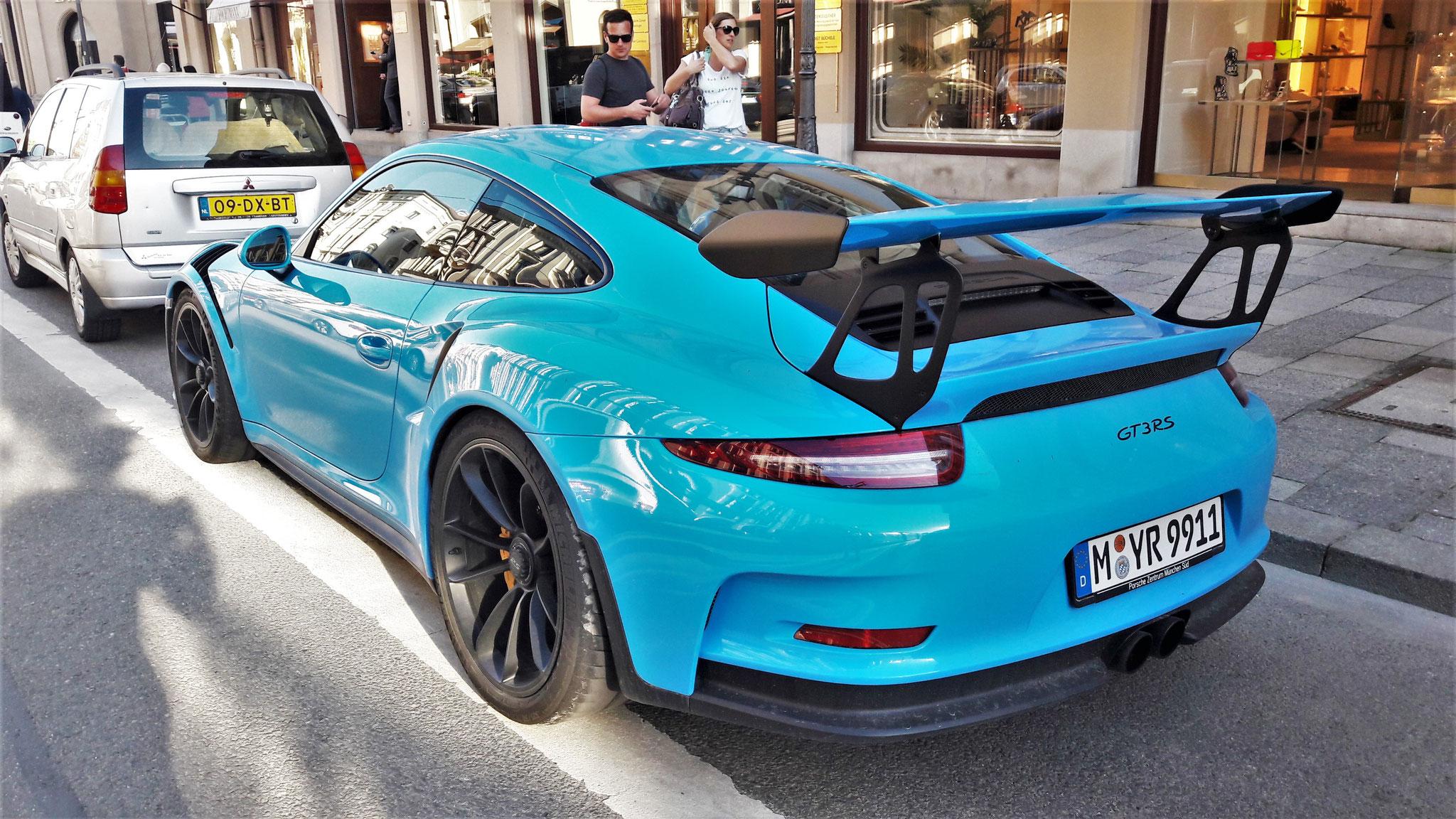 Porsche 911 GT3 RS - M-YR-9911