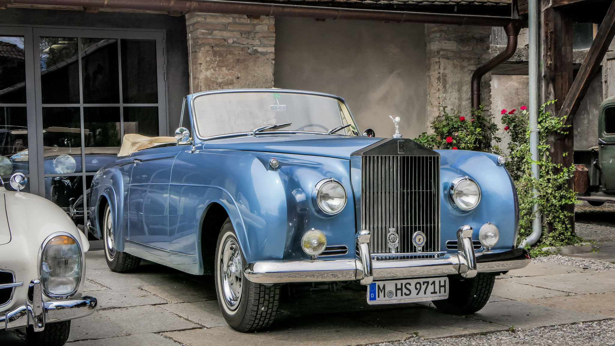 Rolls Royce Silver Cloud Convertible - M-HS-971H