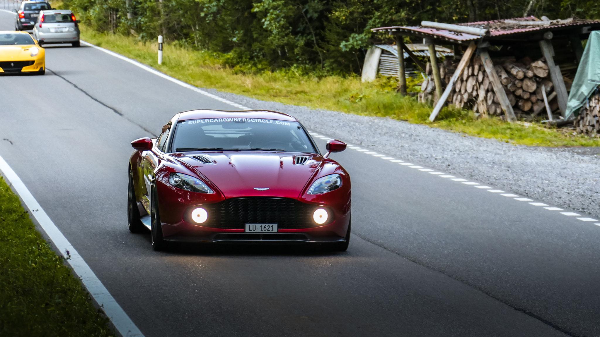 Aston Martin Vanquish Zagato - LU-1621 (CH)