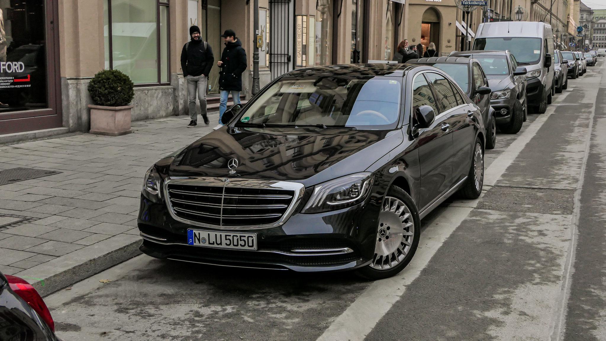 Mercedes Maybach S500 - N-LU-5050