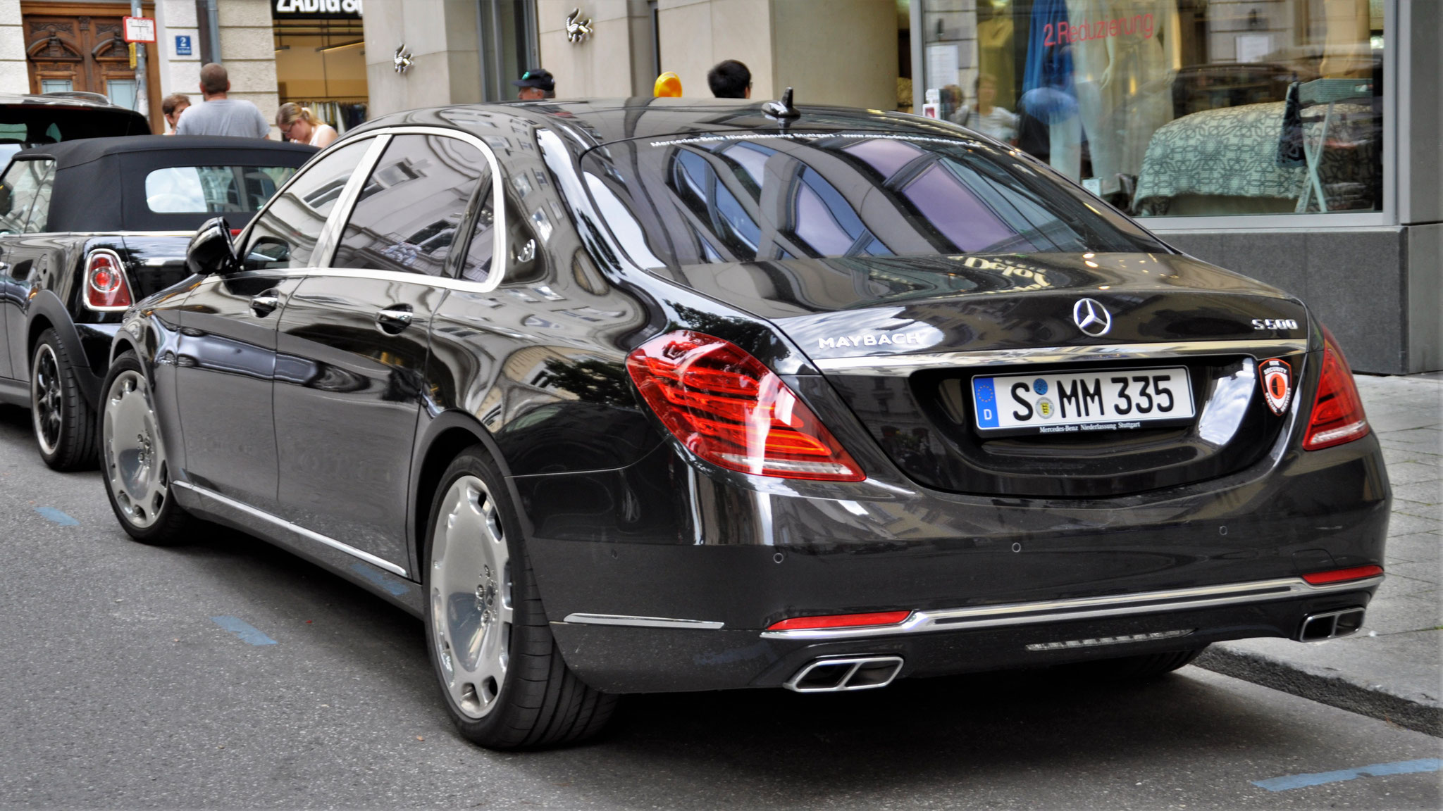 Mercedes Maybach S500 - S-MM-335