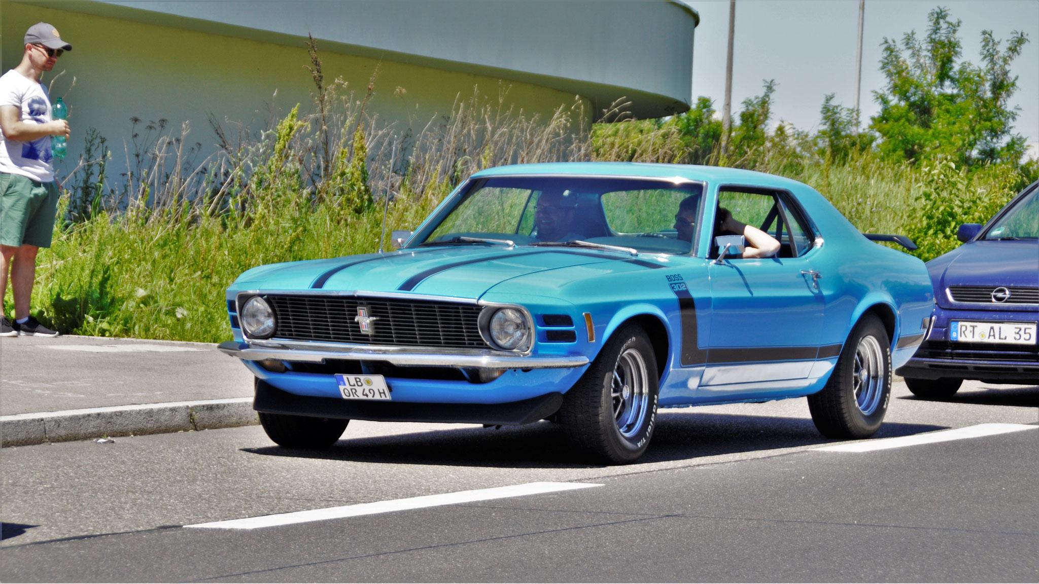 Boss 302 Mustang - LB-OR-49H