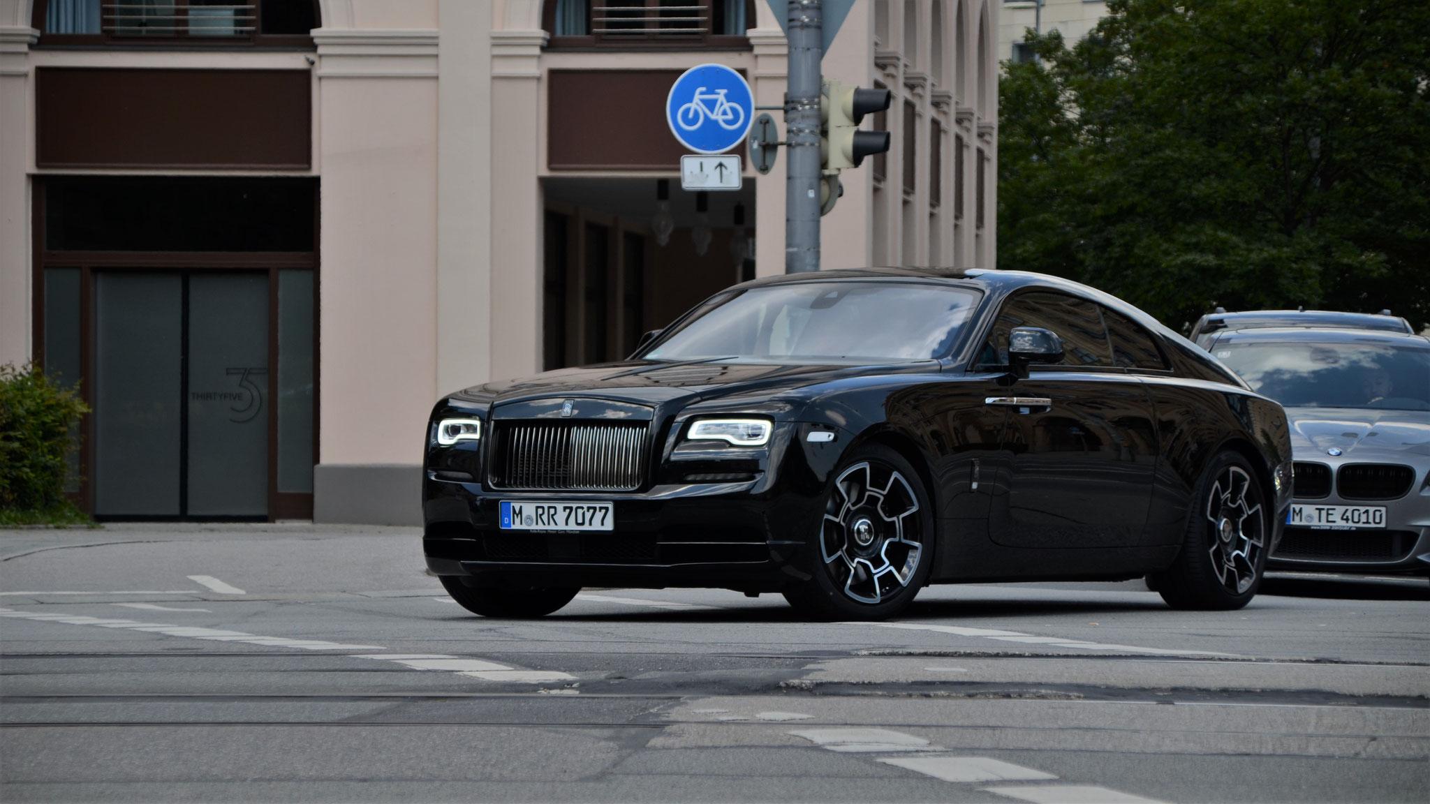 Rolls Royce Wraith Black Badge - M-RR-7077