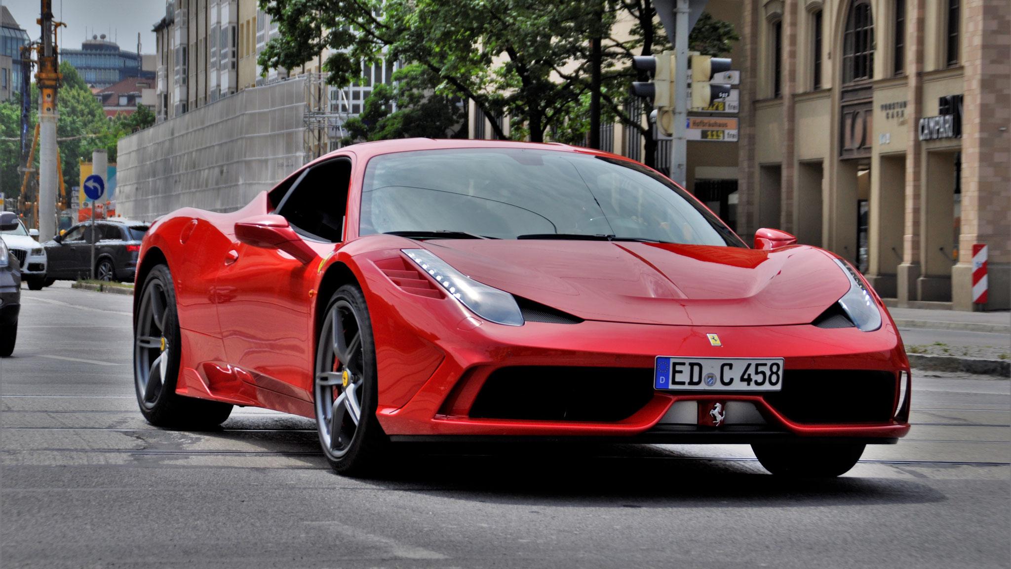 Ferrari 458 Speciale - ED-C-458