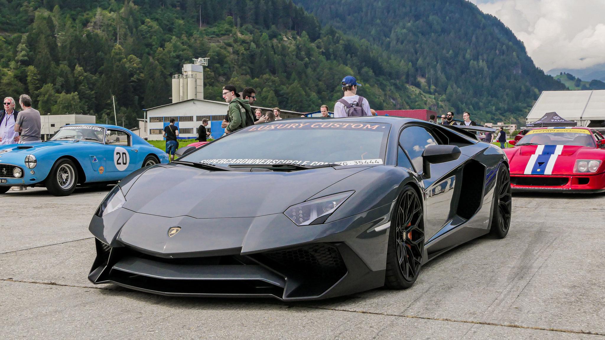 Lamborghini Aventador LP-750-4 SV - ZG-35444 (CH)
