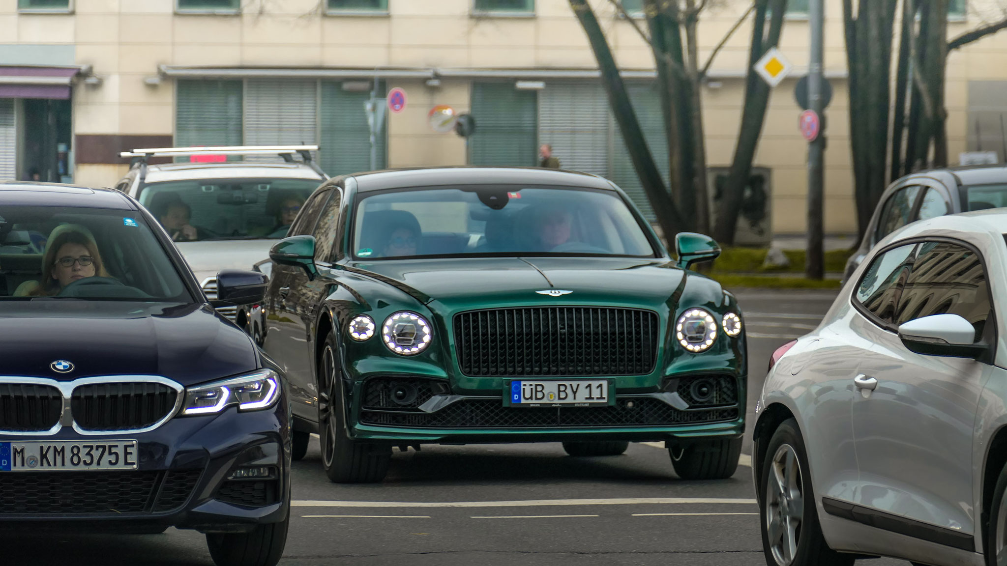 Bentley Flying Spur - ÜB-BY-11