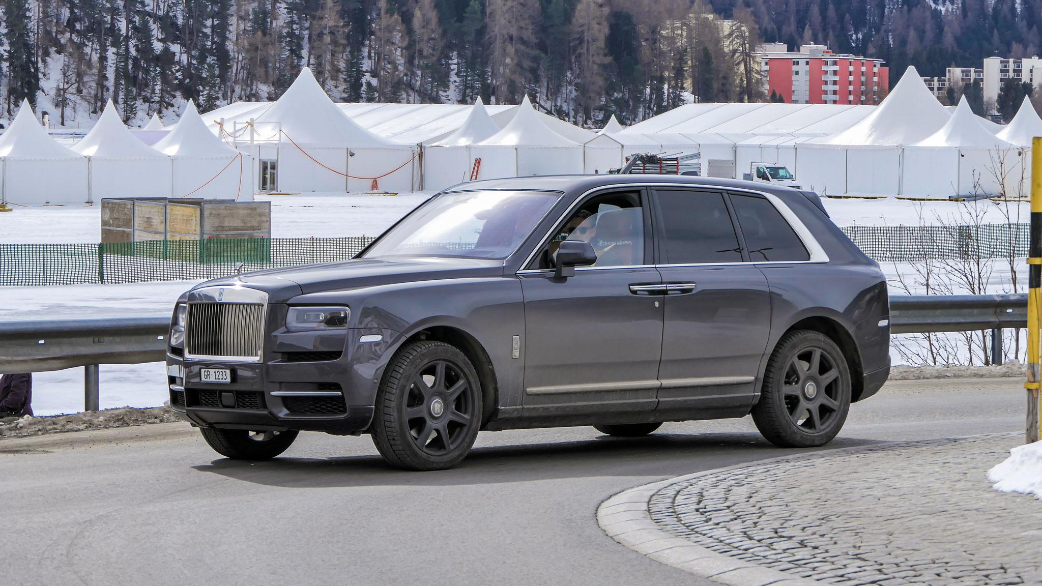 Rolls Royce Cullinan - GR-1233 (CH)