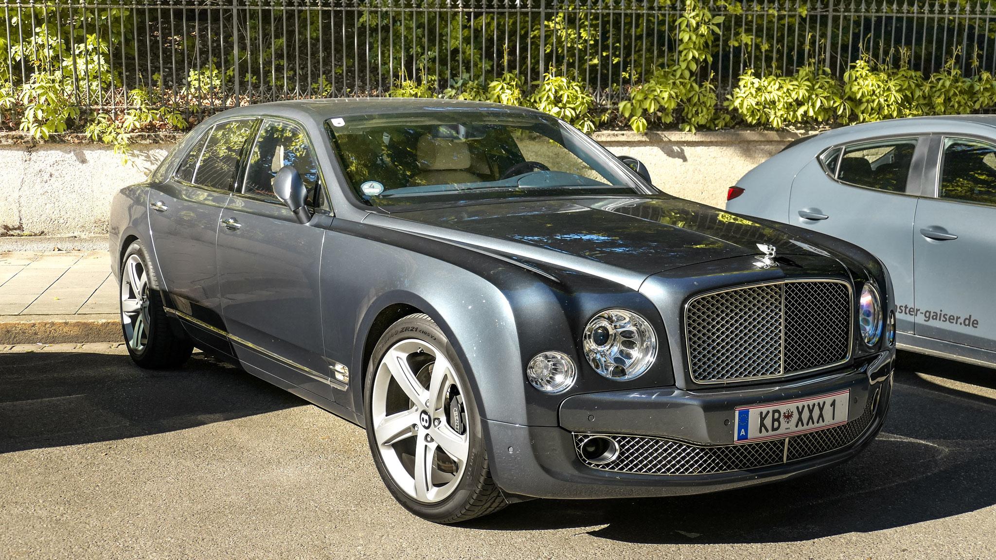 Bentley Mulsanne - KB-XXX-1 (AUT)