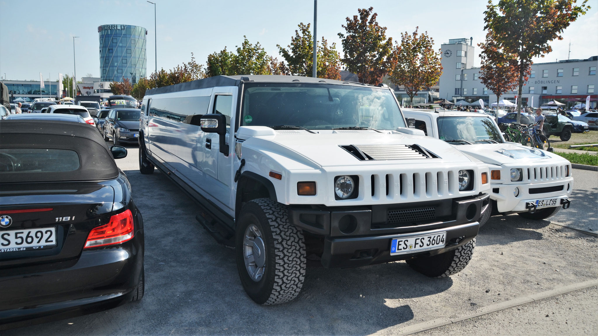 Hummer H2 Stretch - ES-FS-3604