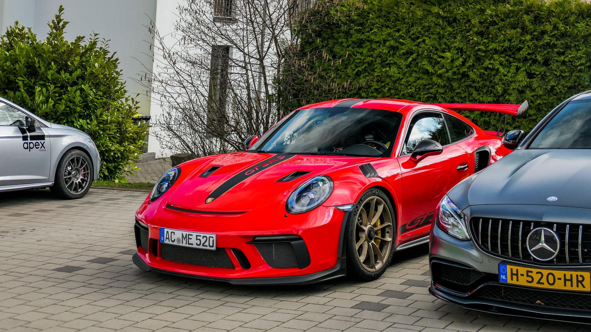Porsche 911 991.2 GT3 RS - AC-ME-520