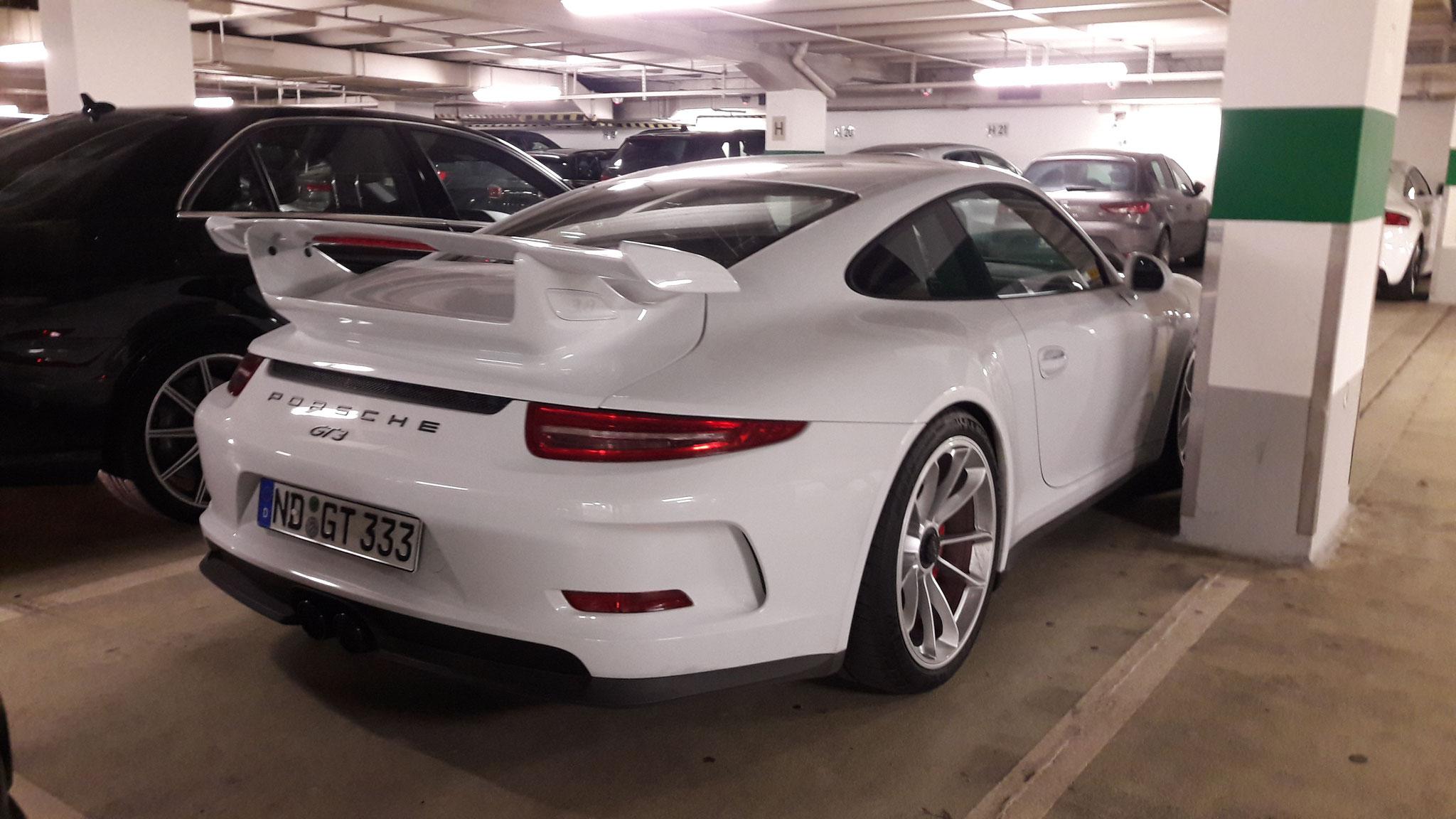 Porsche 991 GT3 - ND-GT-333