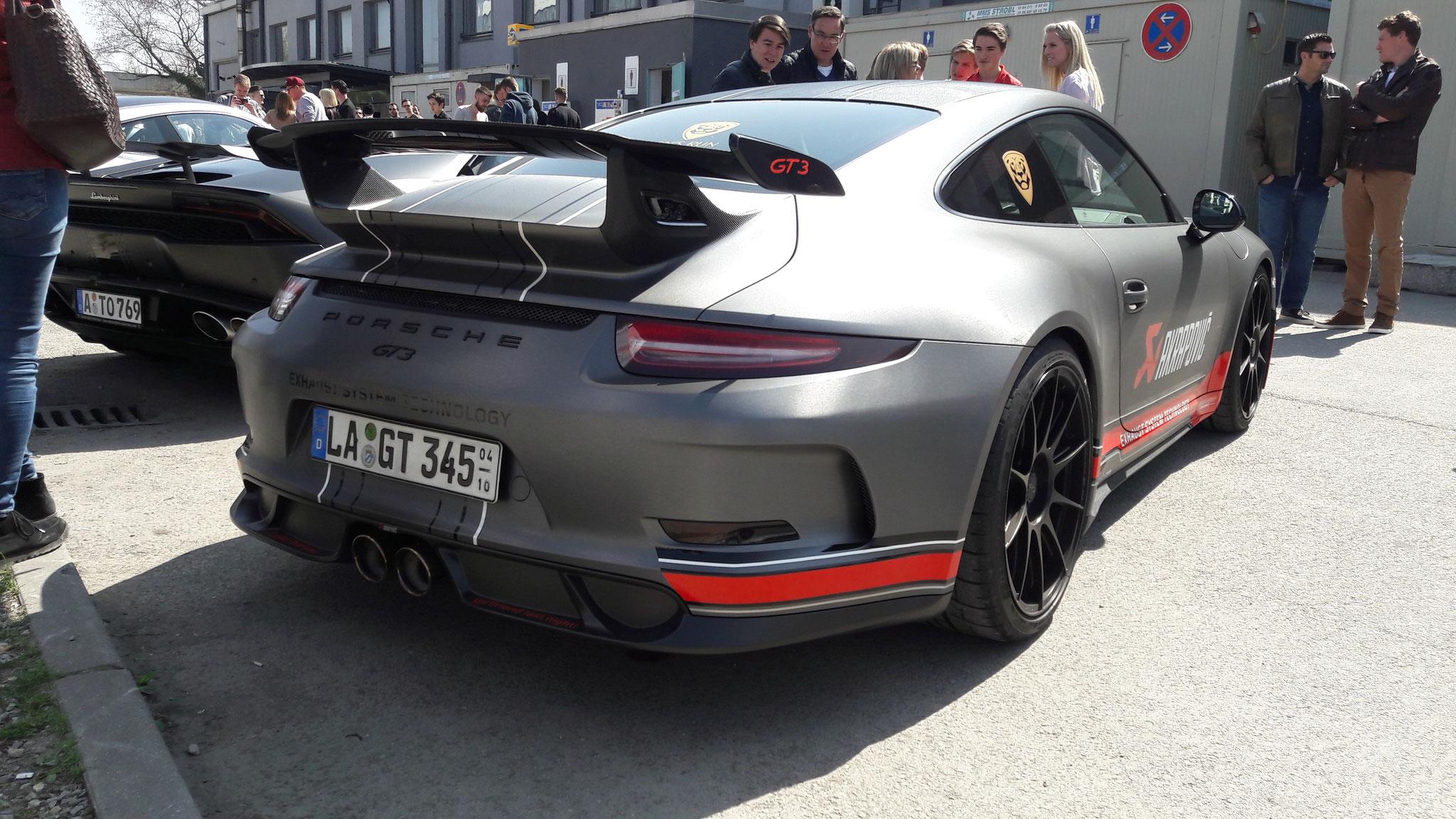 Porsche 991 GT3 - LA-GT-345