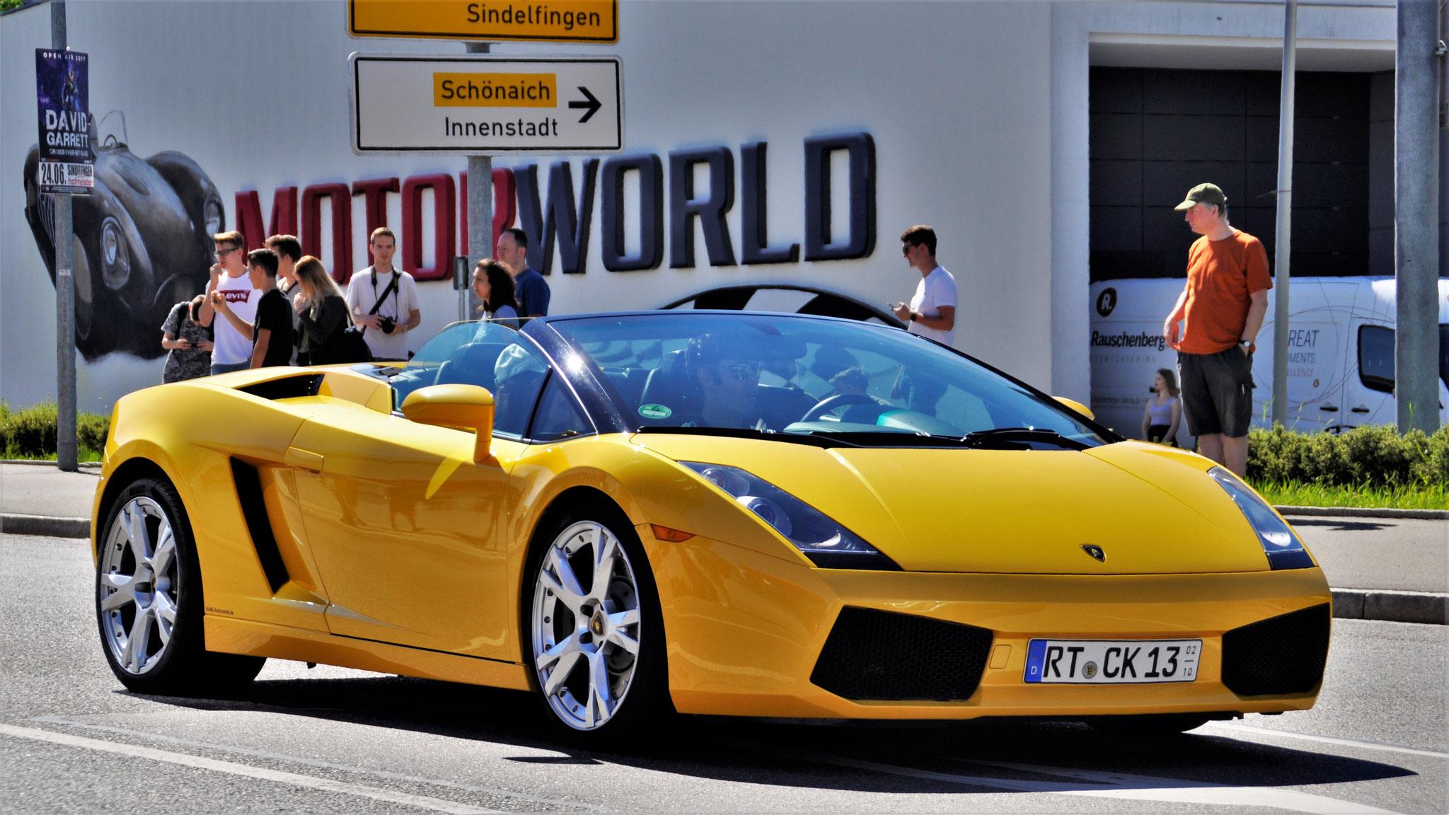 Lamborghini Gallardo Spyder - RT-CK-13
