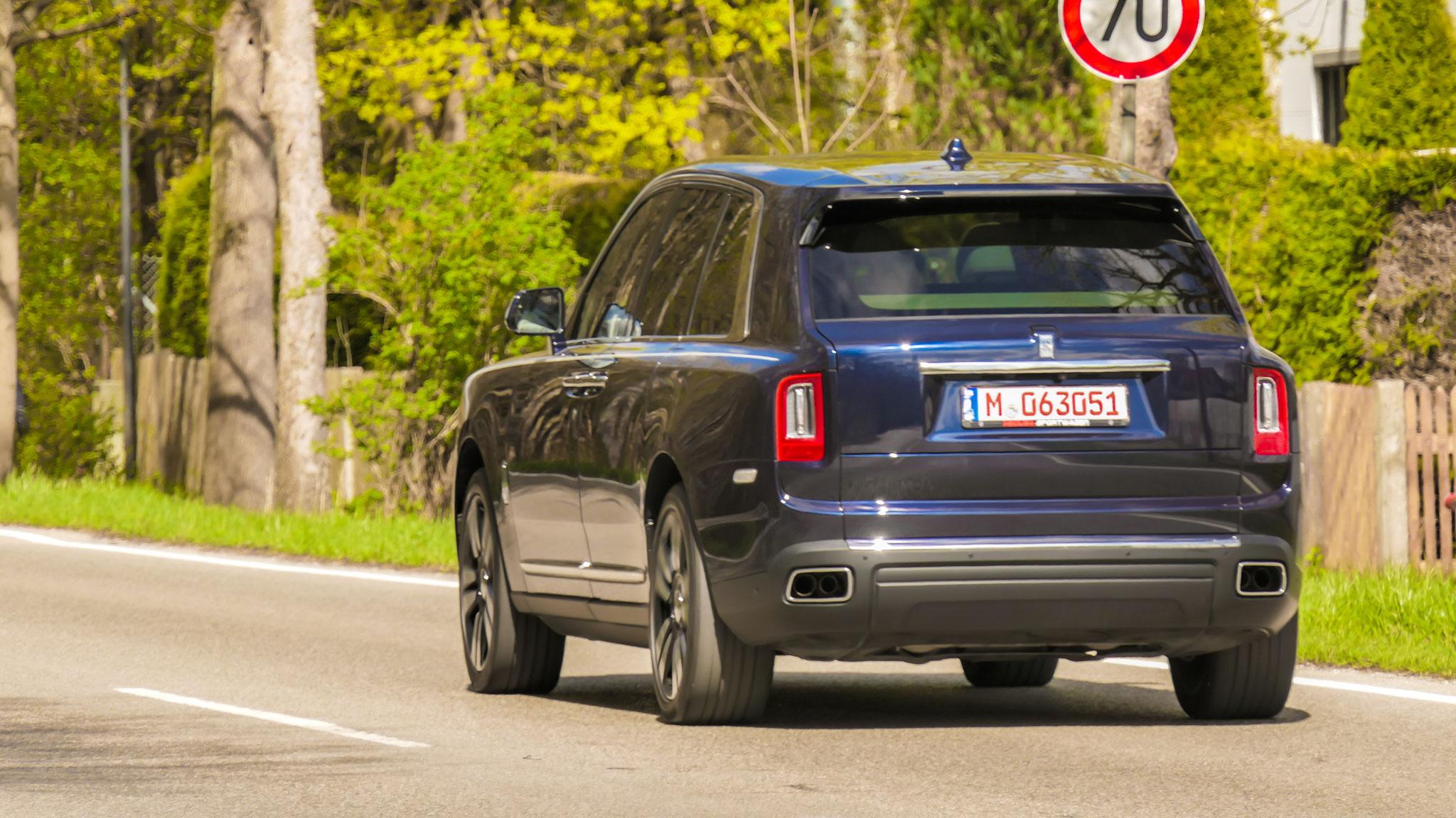 Rolls Royce Cullinan - M-063051