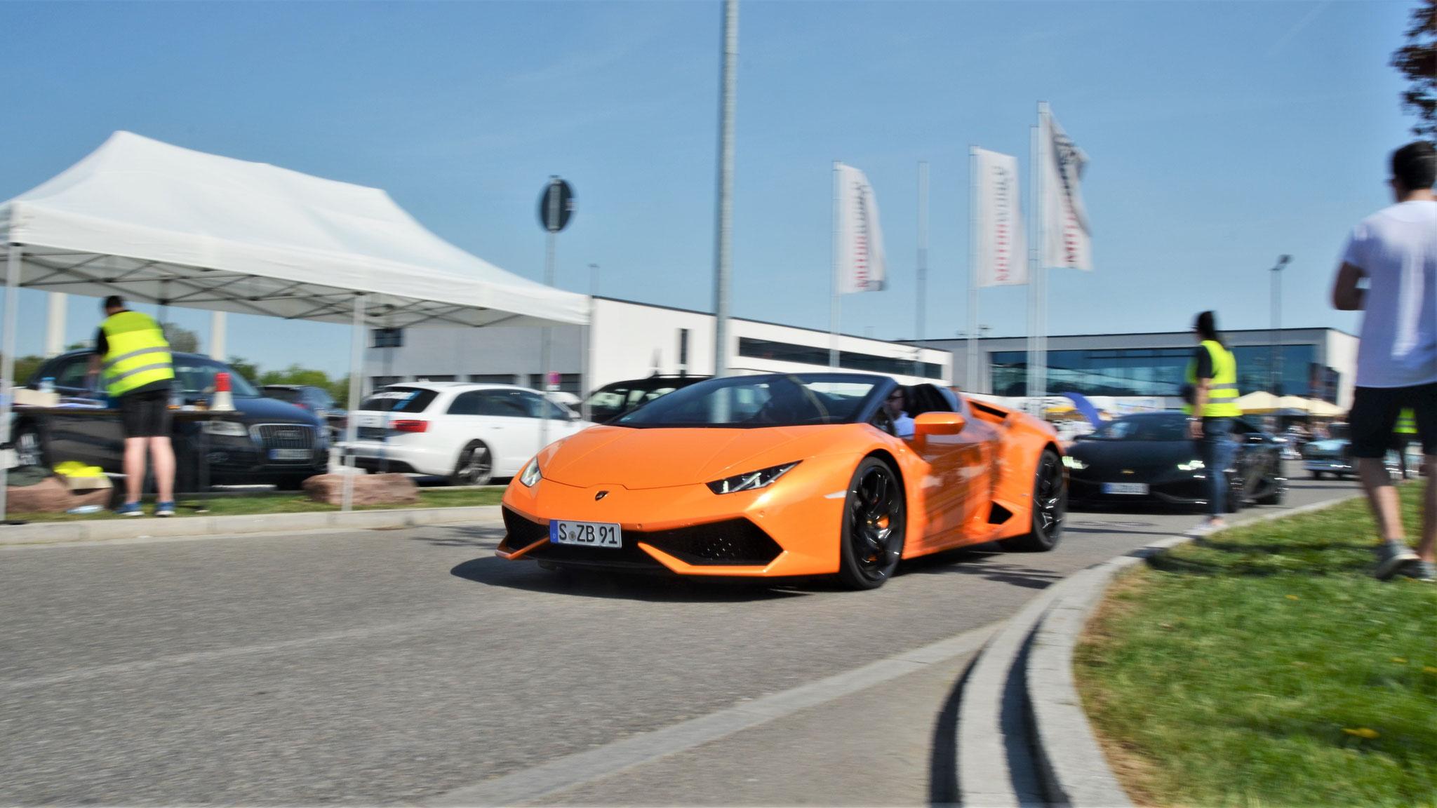 Lamborghini Huracan Spyder - S-ZB-91