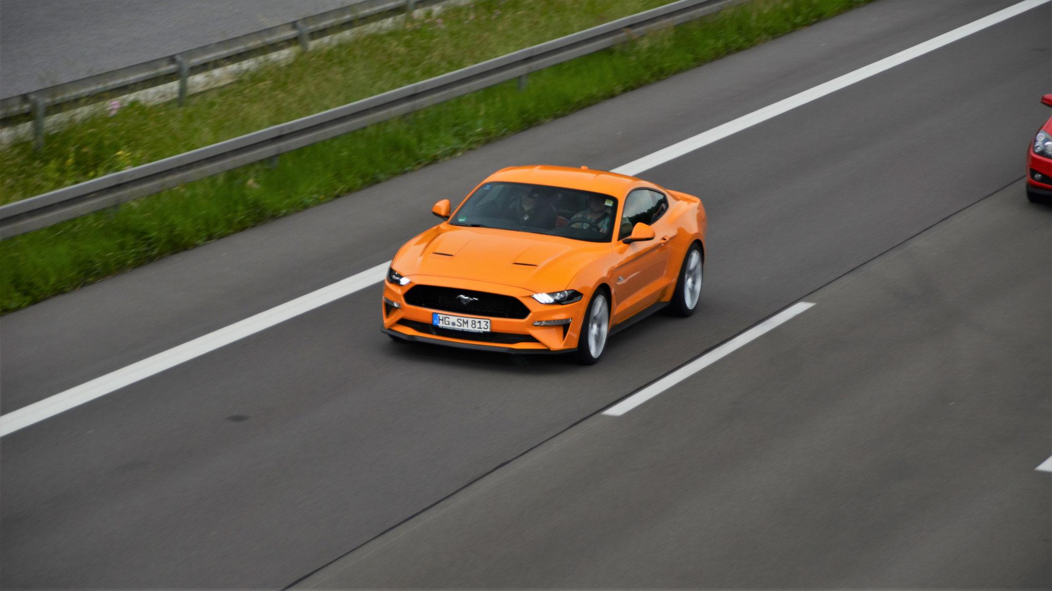 Ford Mustang GT - HG-SM-813