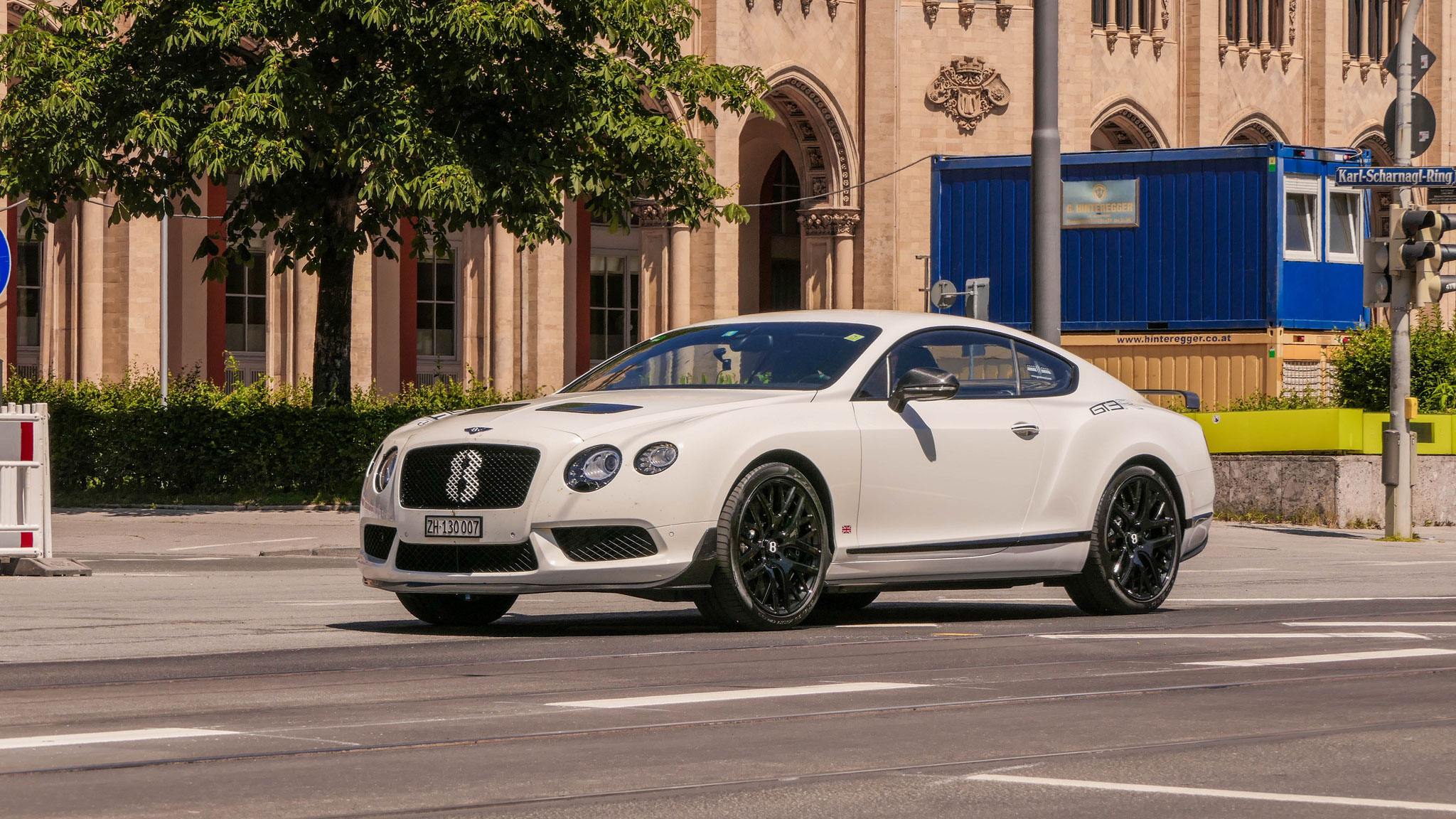 Bentley Continental GT3 R - ZH-130007 (CH)
