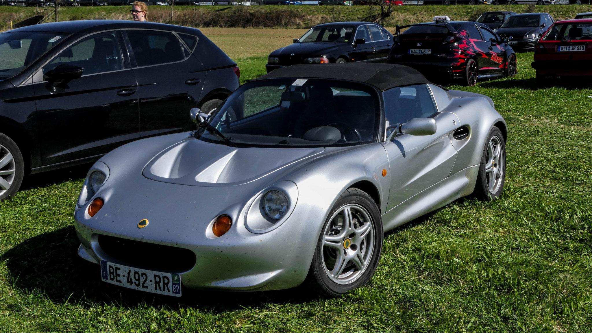 Lotus Elise S1 - BE-492-RR-87 (FRA)
