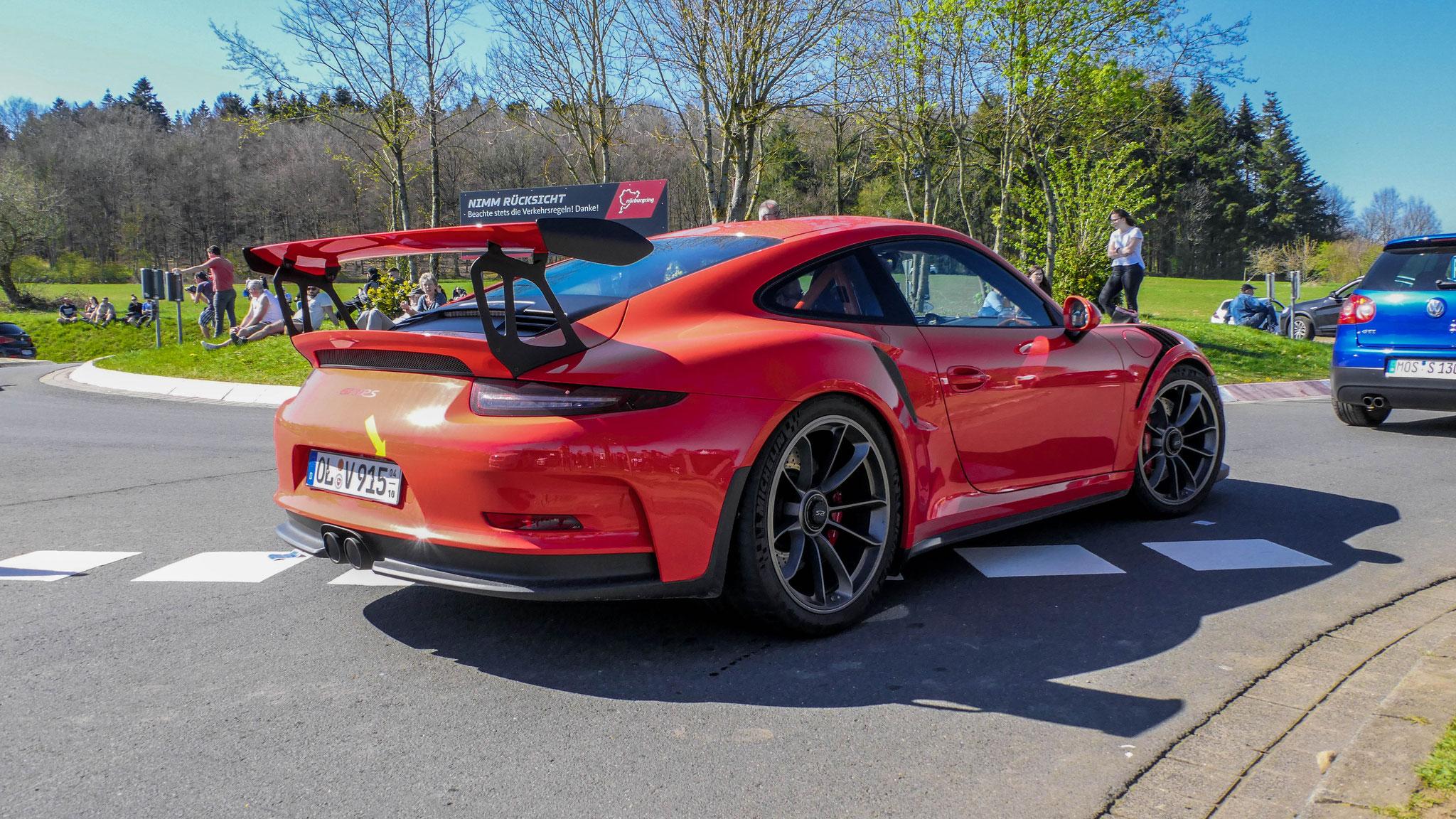 Porsche 911 GT3 RS - OL-V-915