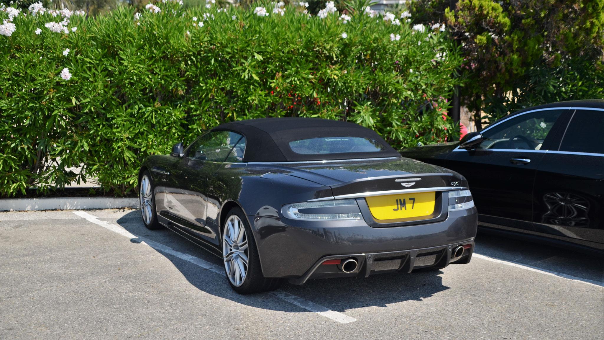 Aston Martin DBS Volante - JM-7 (GB)