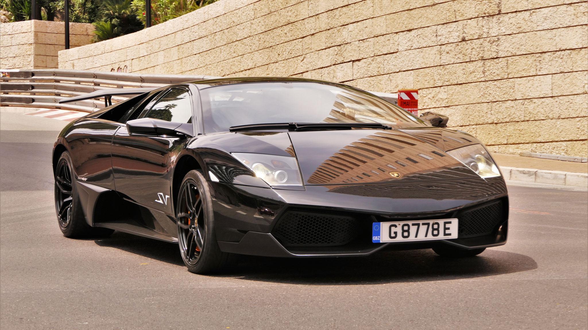 Lamborghini Murcielago SV - G-8778-E (GBZ)