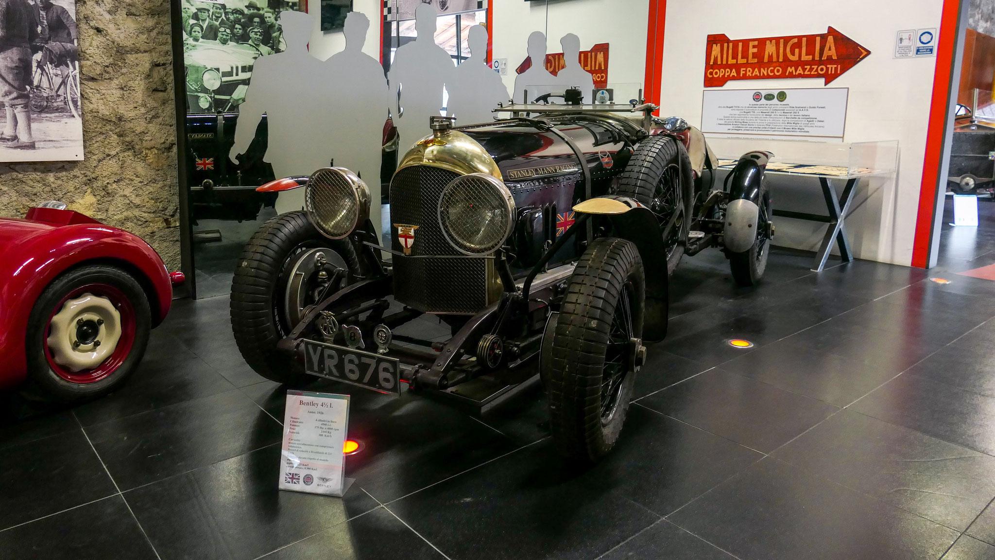Bentley 4 1/2 Litre - YR-676 (GB)