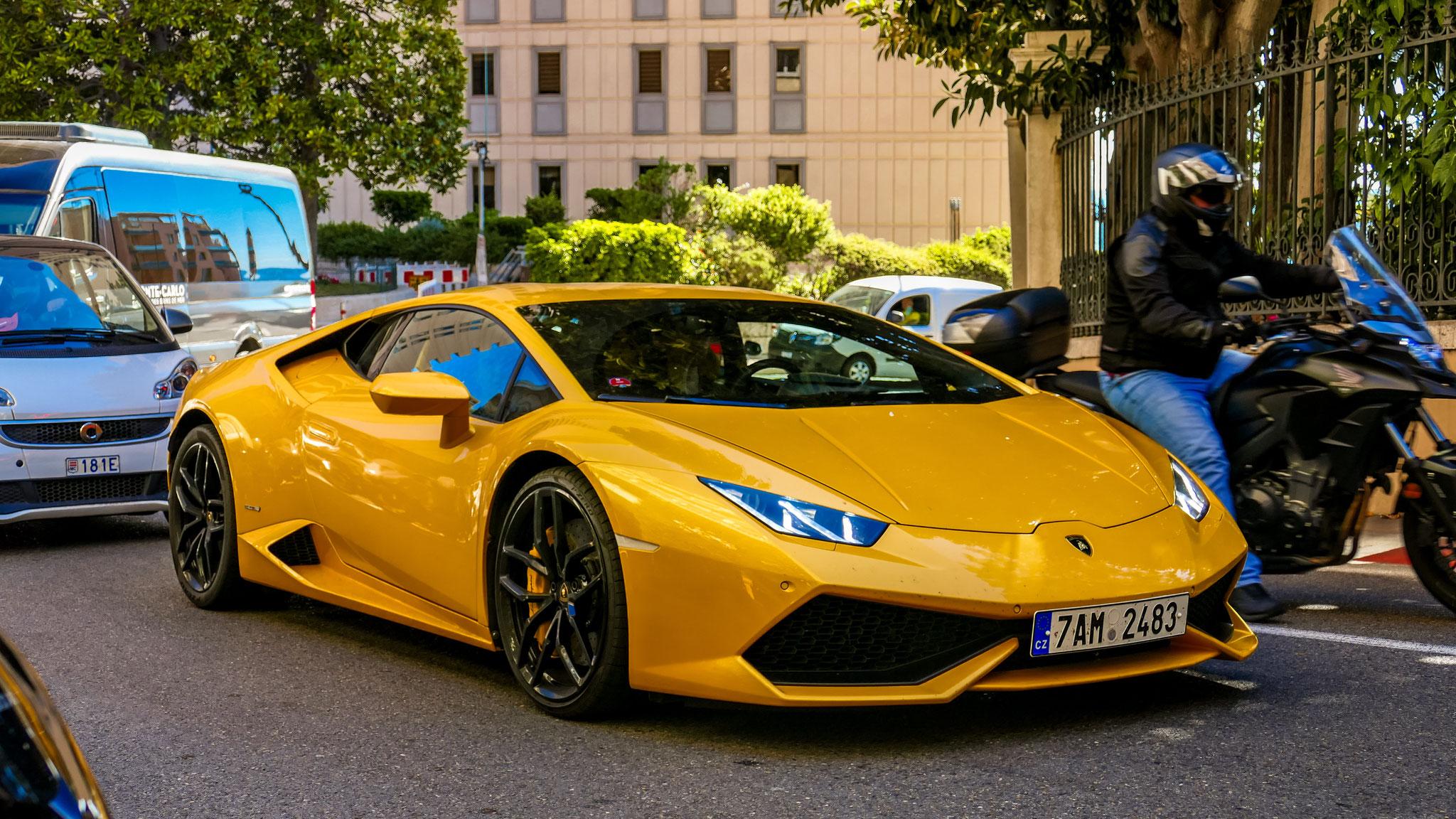 Lamborghini Huracan - 7AM-2483 (CZ)