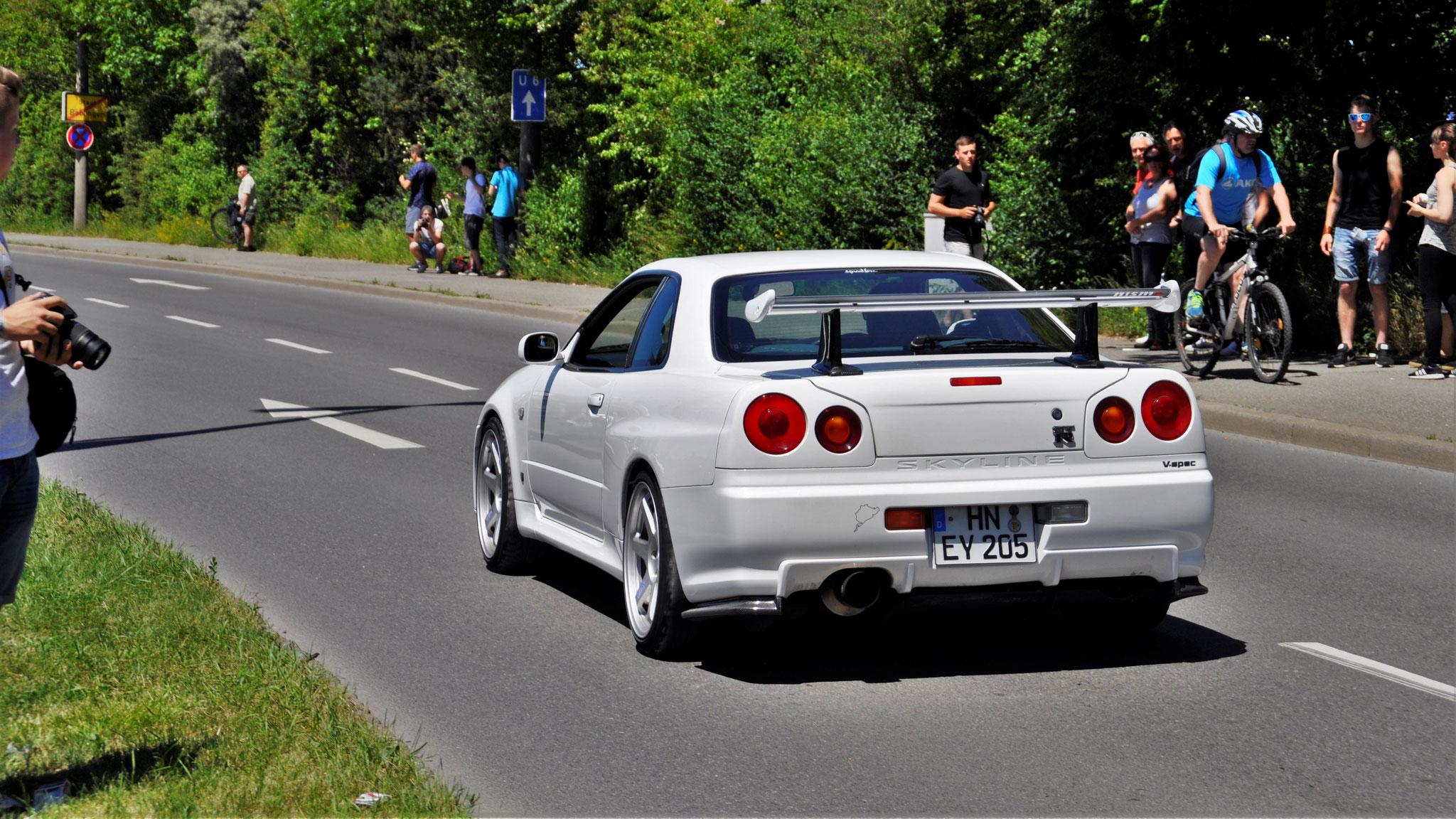 Nissan R34 GT-R V.spec - HN-EY-205