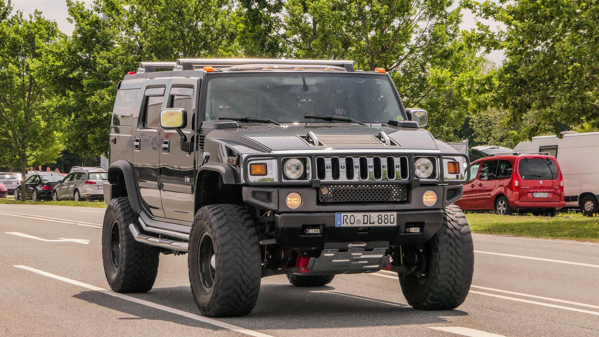 Hummer H2 - RO-DL-880