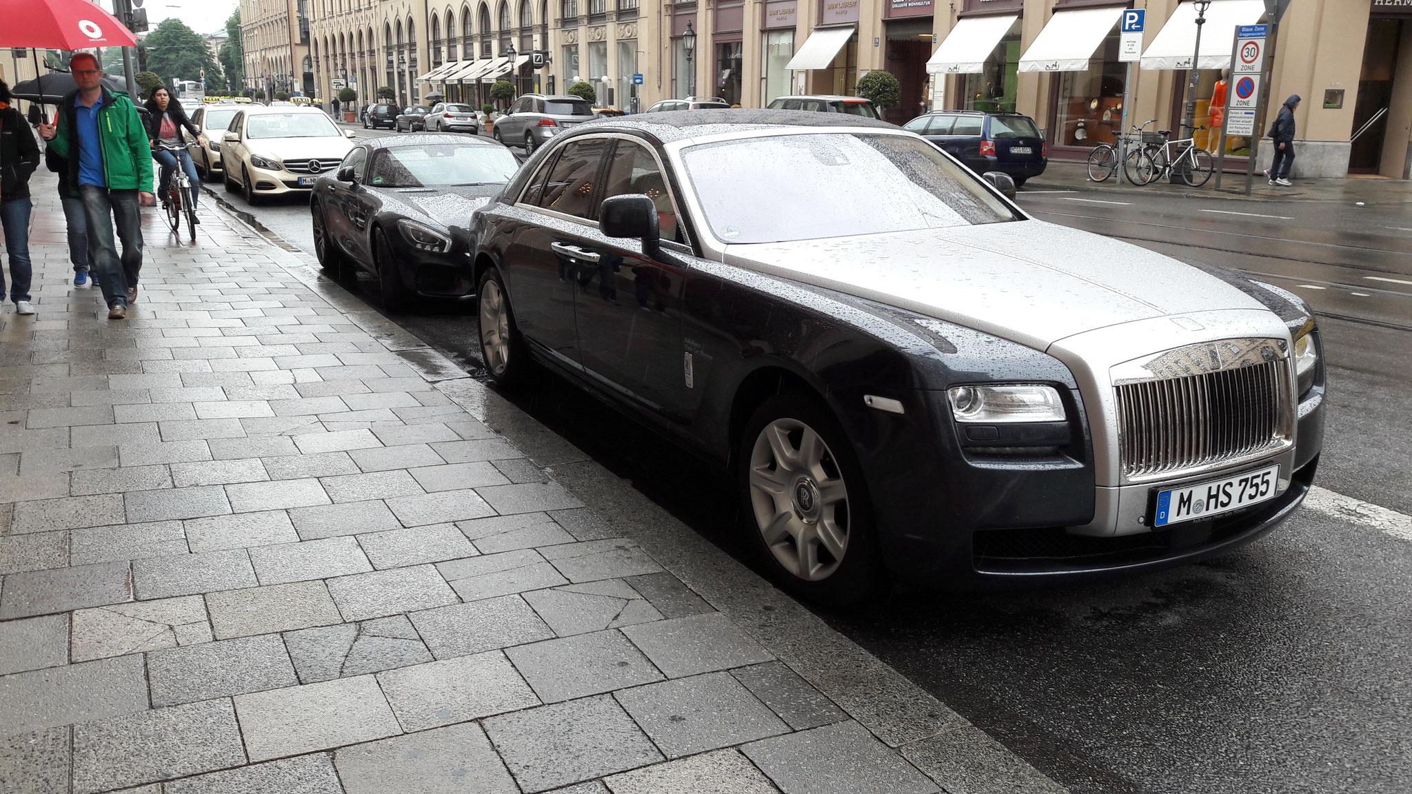 Rolls Royce Ghost - N-HS-755