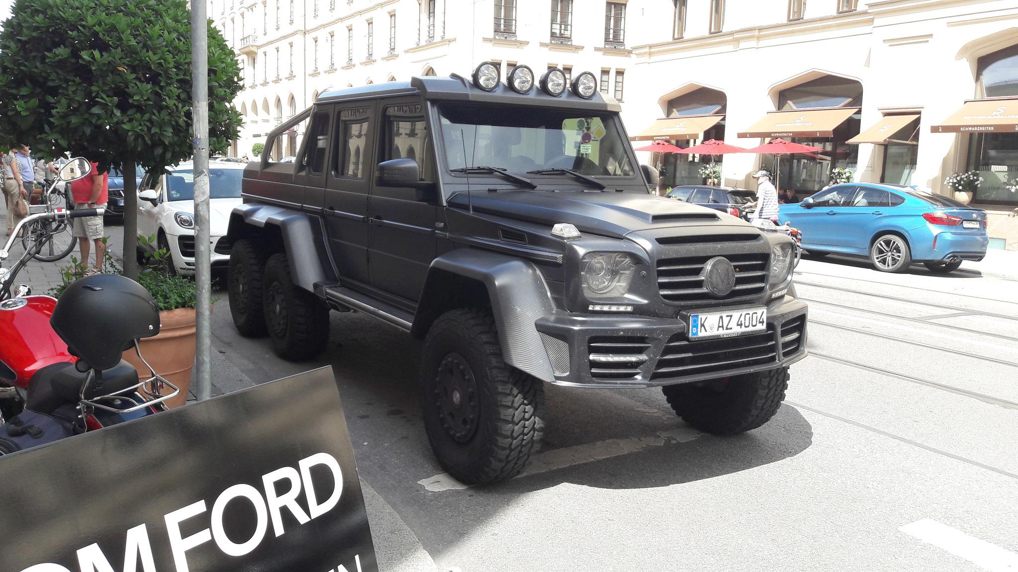 Mansory G 6x6 Xtreme_K-AZ-4004