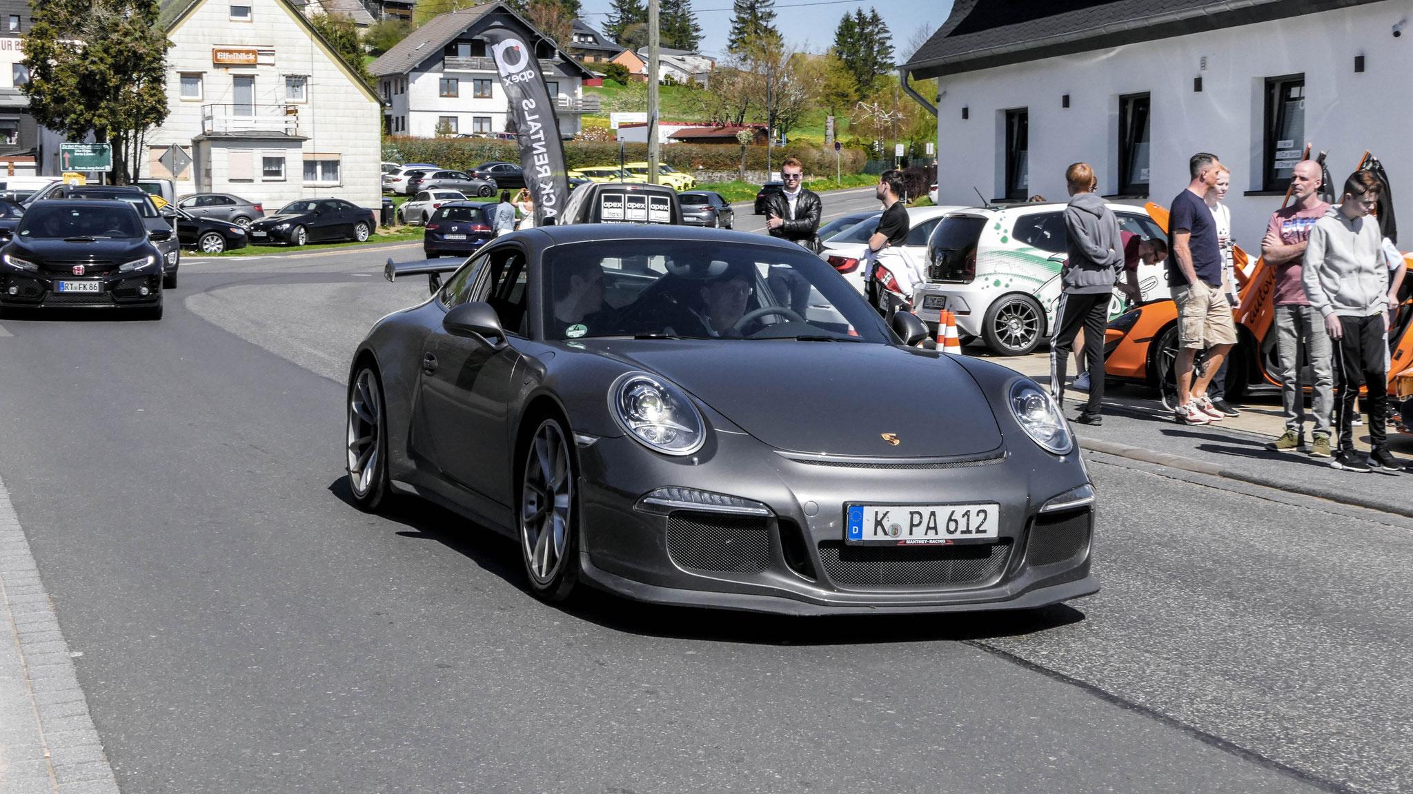 Porsche 991 GT3 - K-PA-612