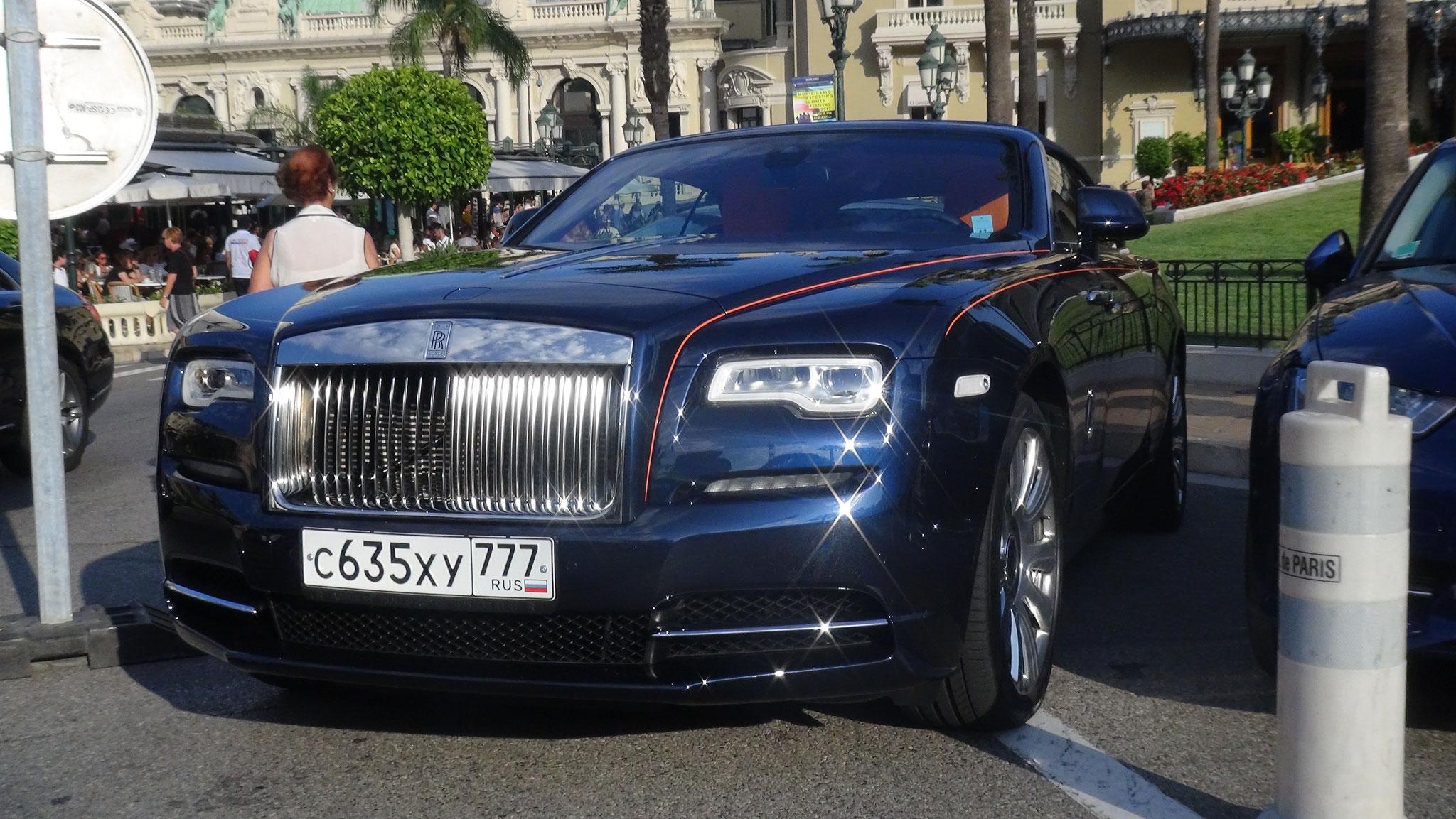 Rolls Royce Dawn - C-635-XY-777 (RUS)