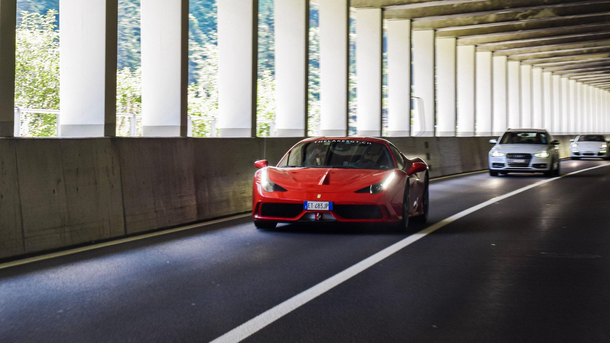 Ferrari 458 Speciale - ET-483-JP (ITA)