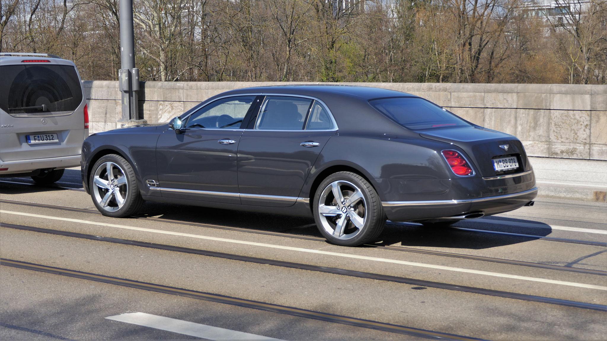 Bentley Mulsanne - M-BB-878