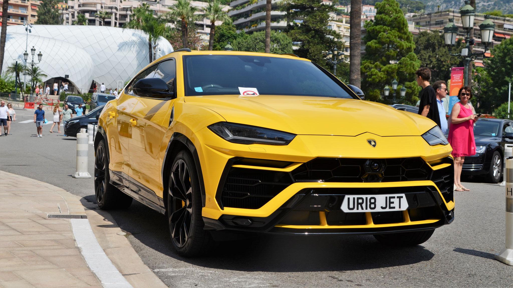 Lamborghini Urus - UR18-JET (GB)