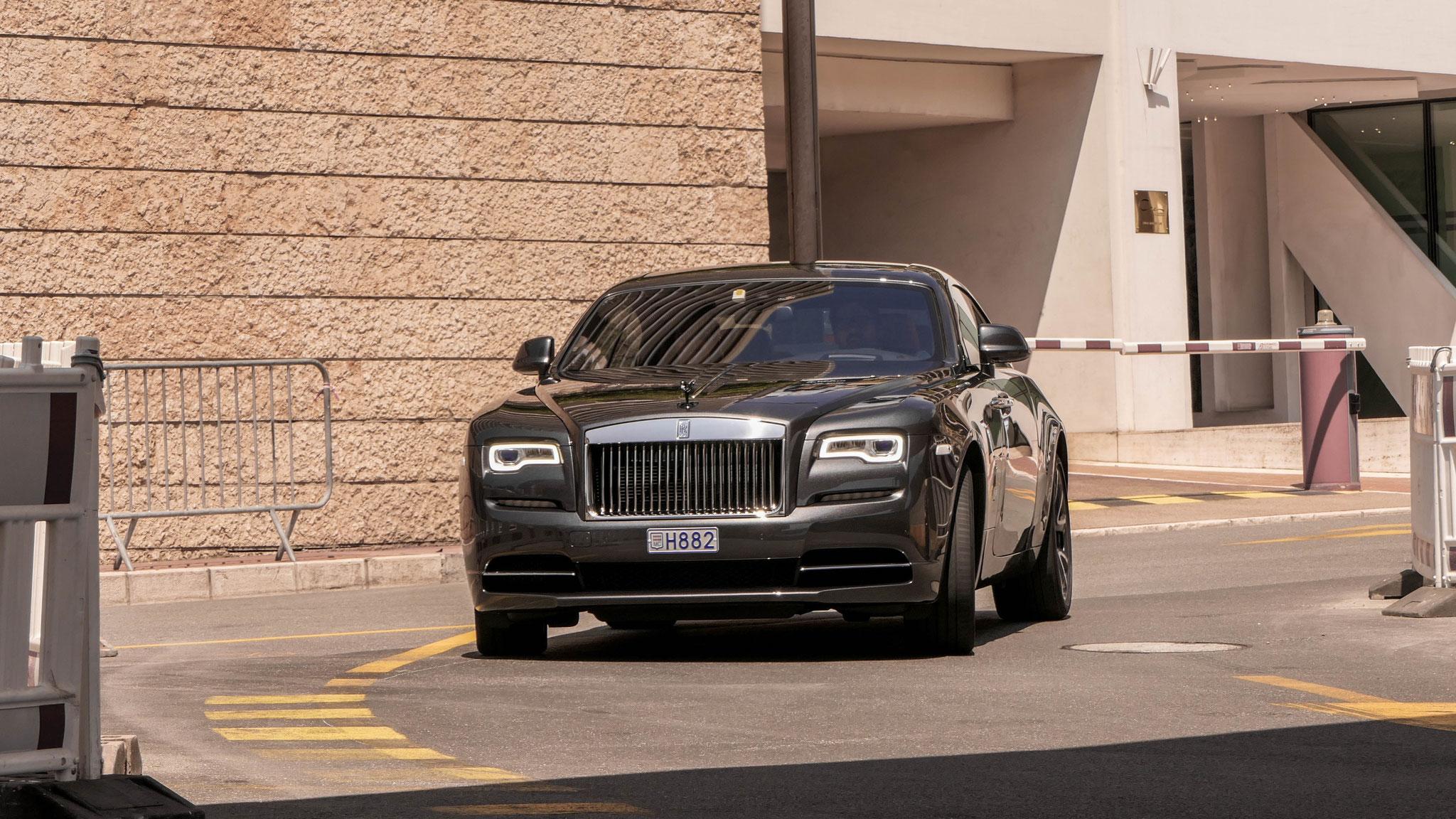 Rolls Royce Wraith - H882 (MC)