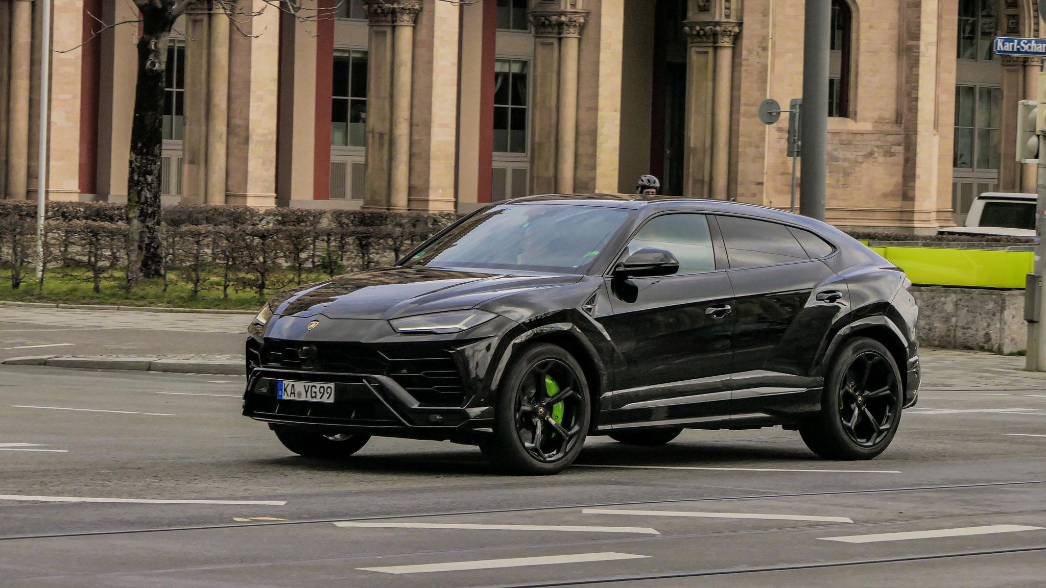 Lamborghini Urus - KA-YG-99