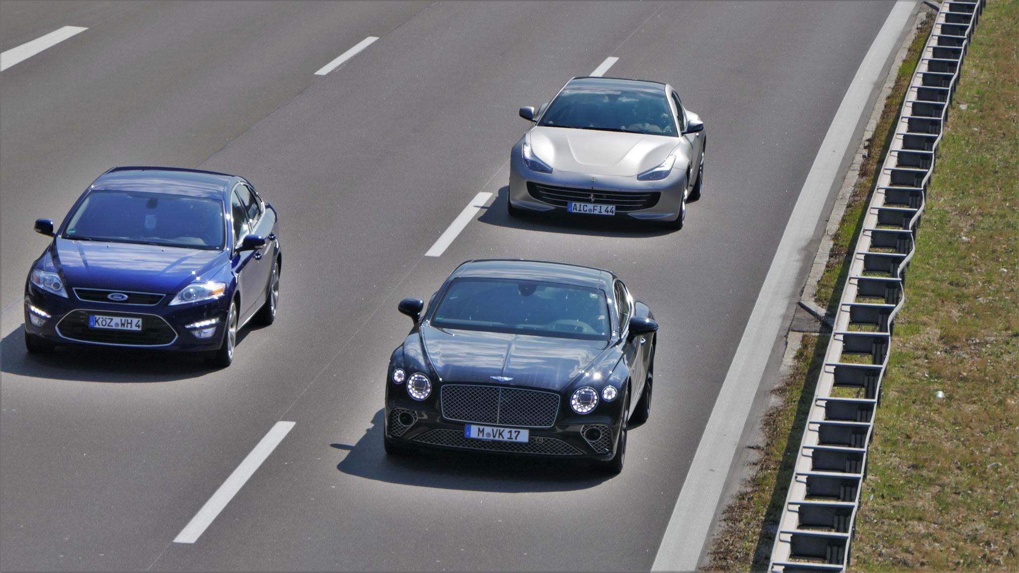 Bentley Continental GT - M-VK-17
