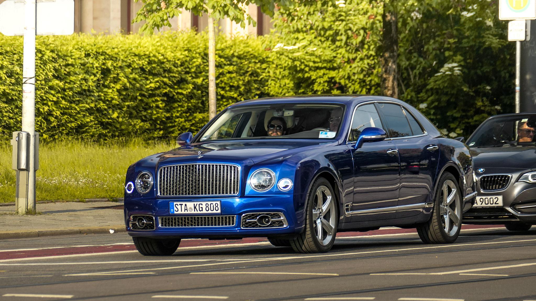 Bentley Mulsanne - STA-KG-808