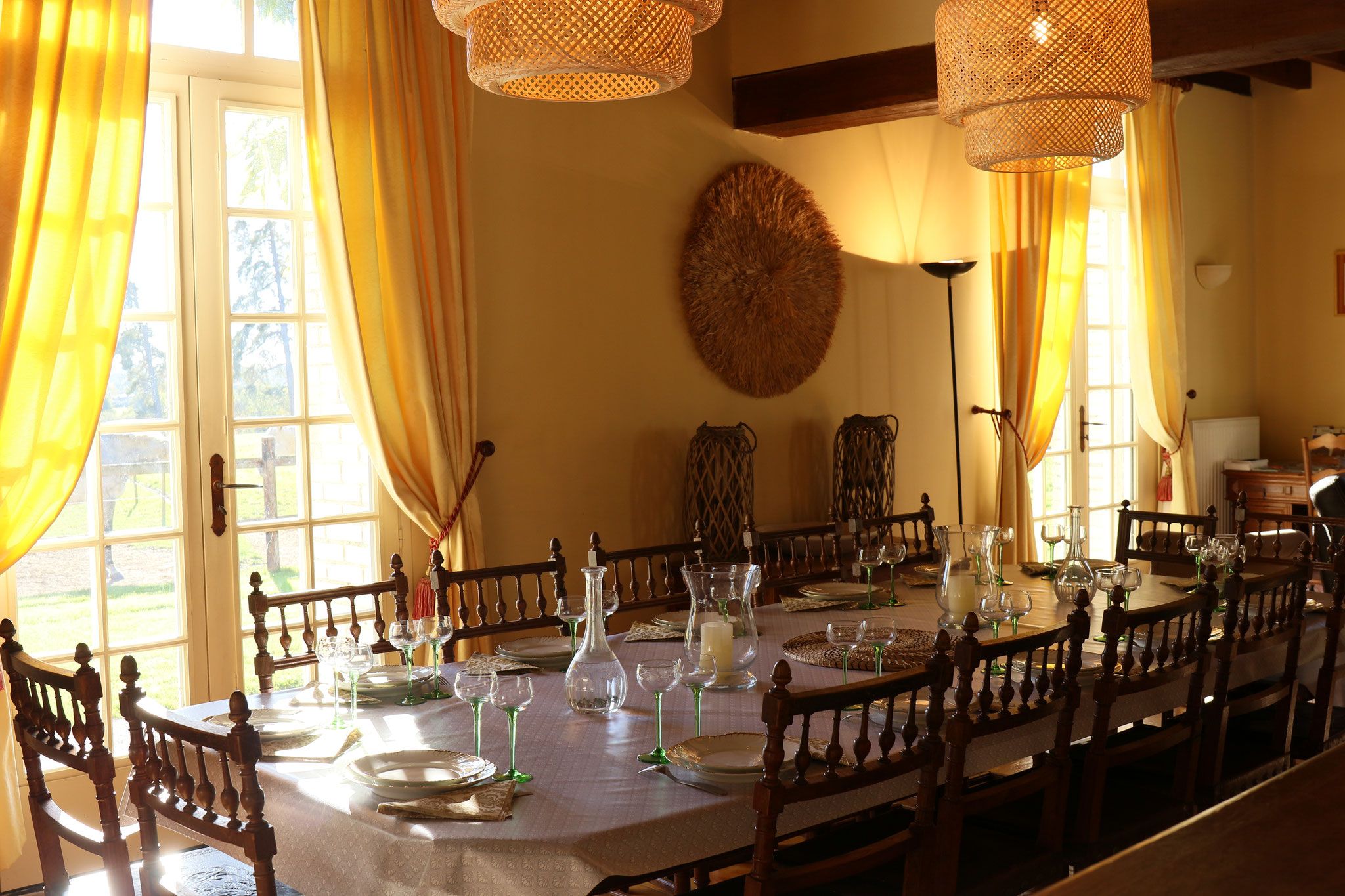 La salle à manger -