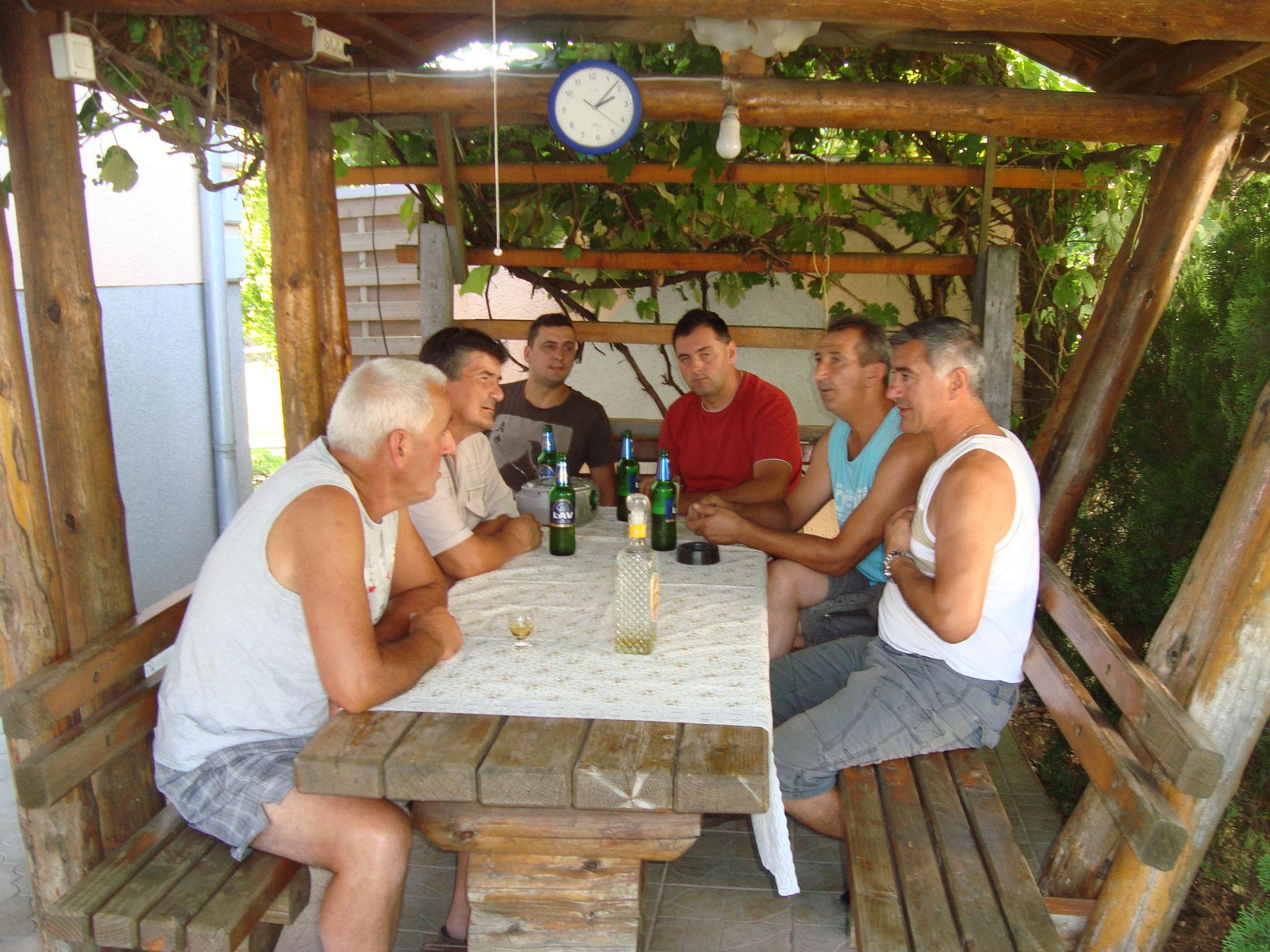 Pripreme za 1. Paljićku feštu 21.Jula 2016.