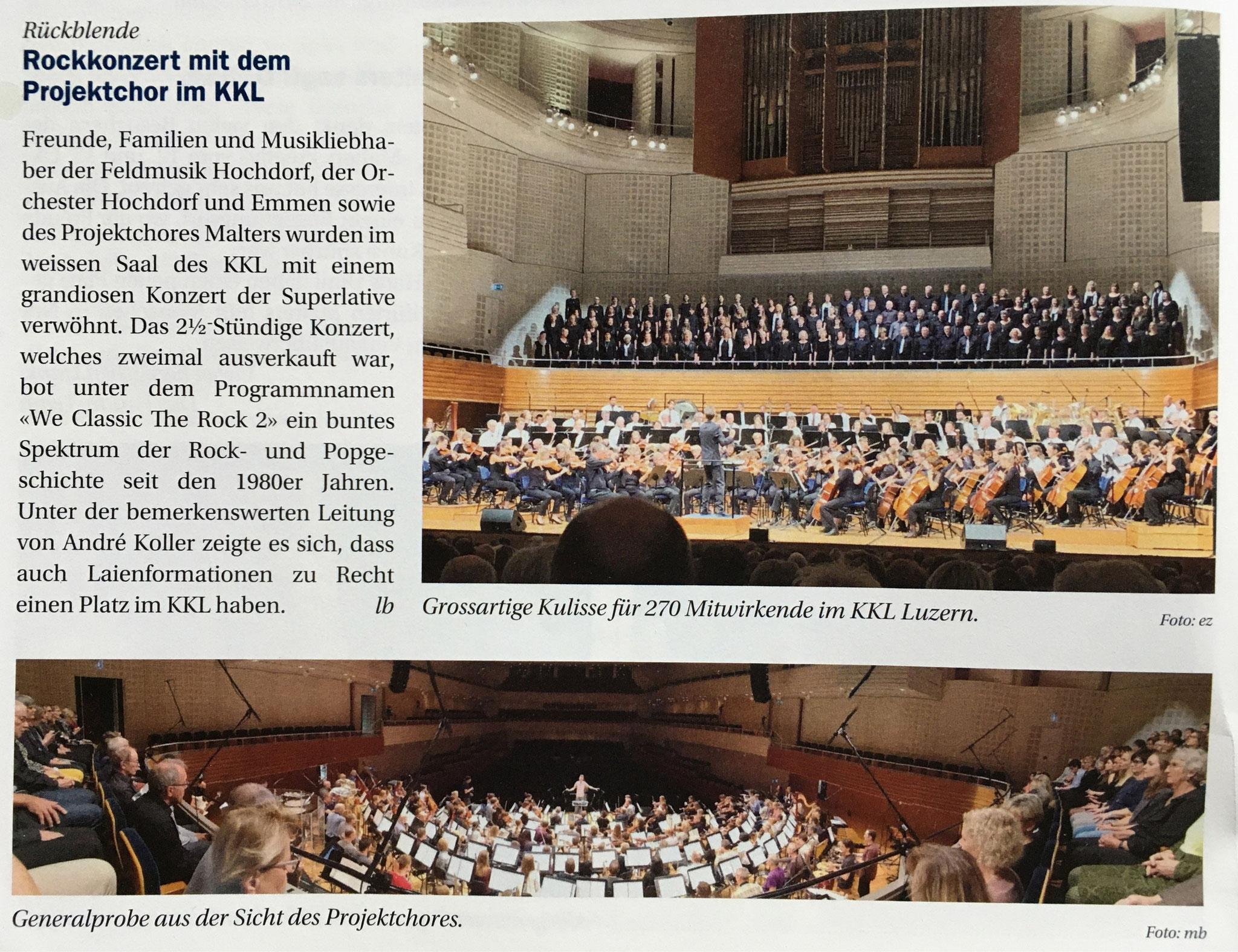 Pfarreiblatt 20/2019 Pastoralraum Malters-Schwarzenberg
