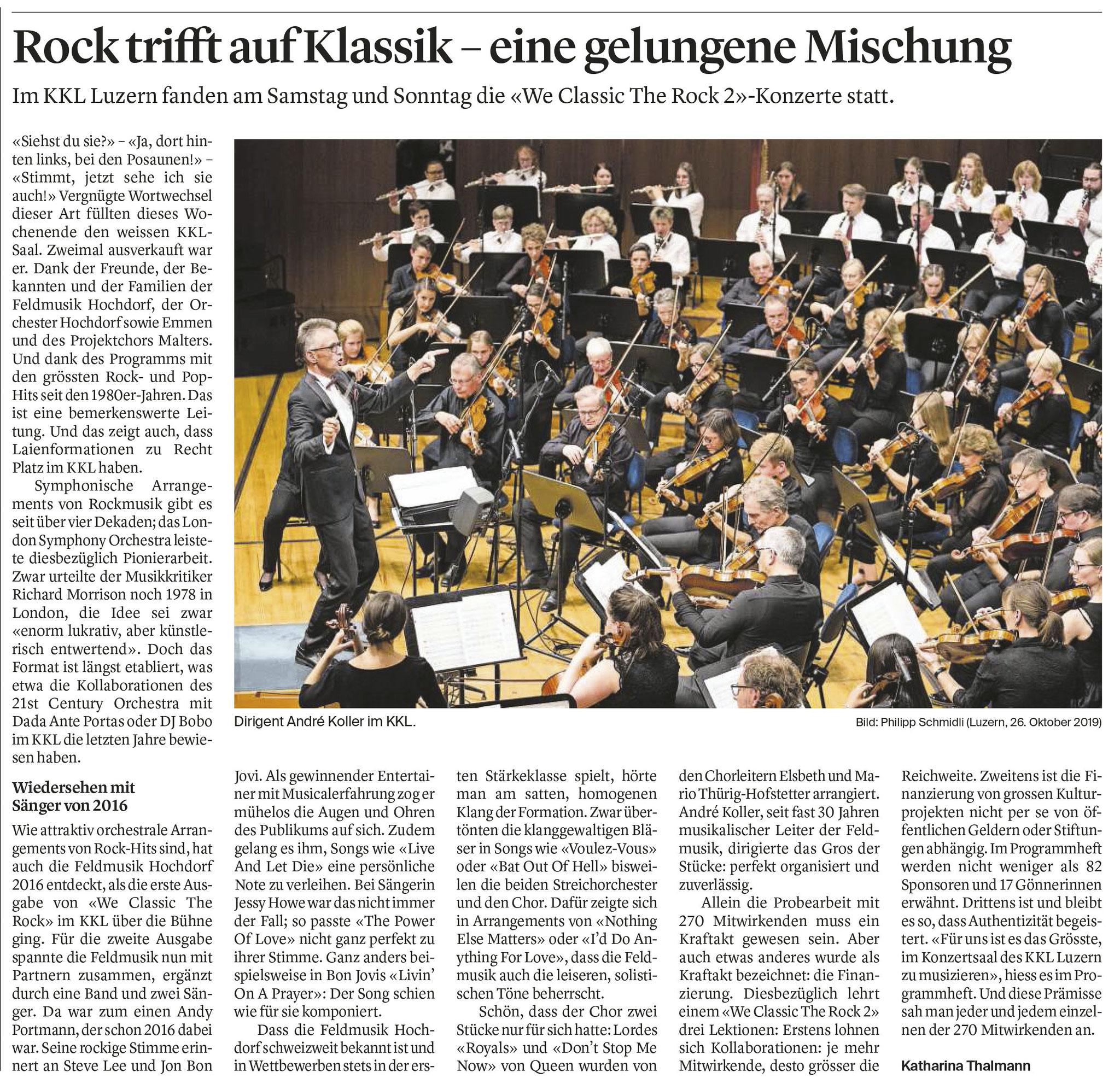 Luzerner Zeitung, Katharina Thalmann