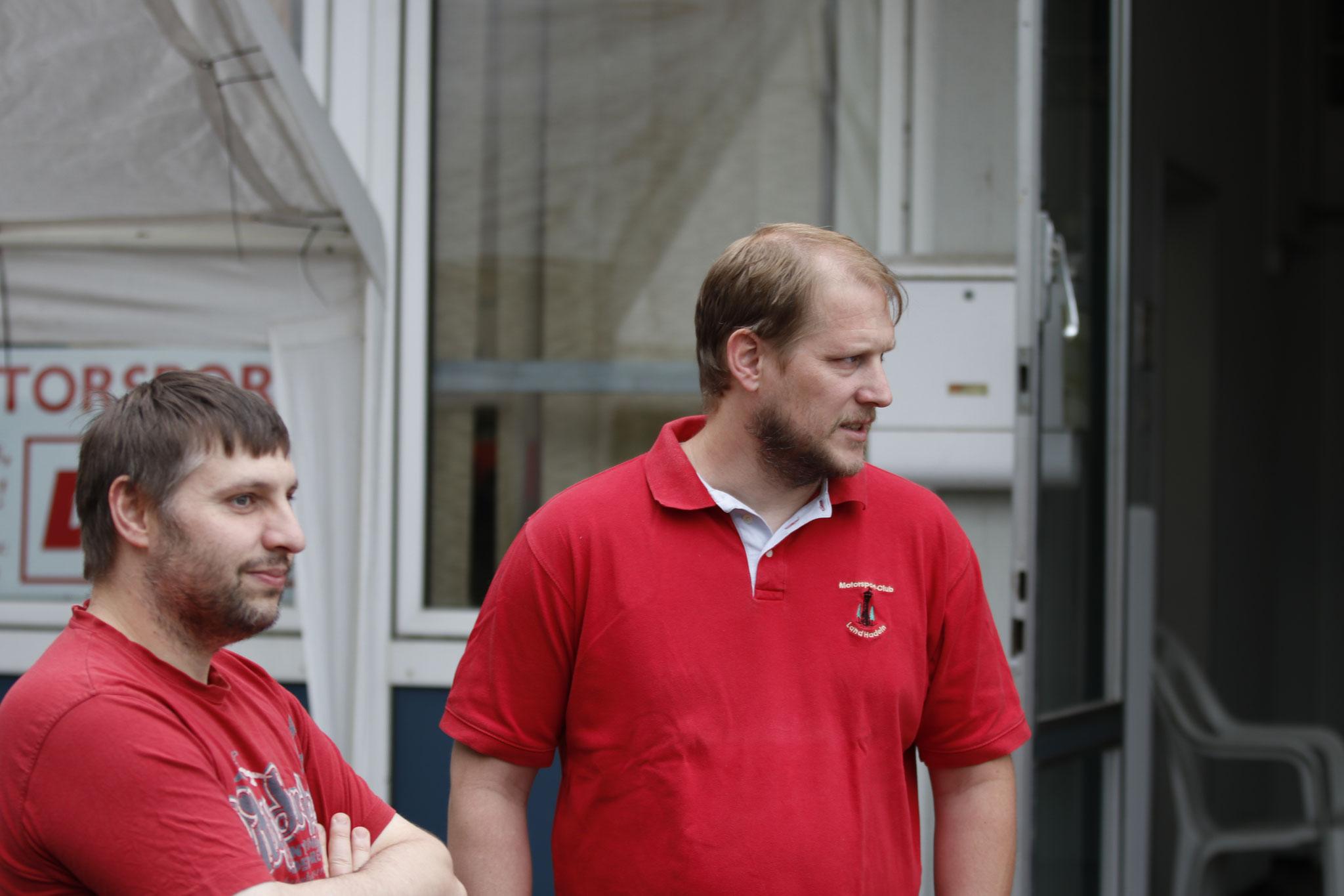v.li. Sven Petzold und Carsten Schlüer