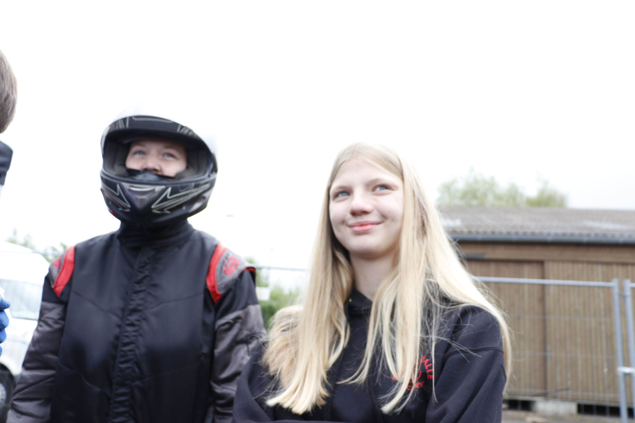v.li. Janica Schlüer und Alicia Föge