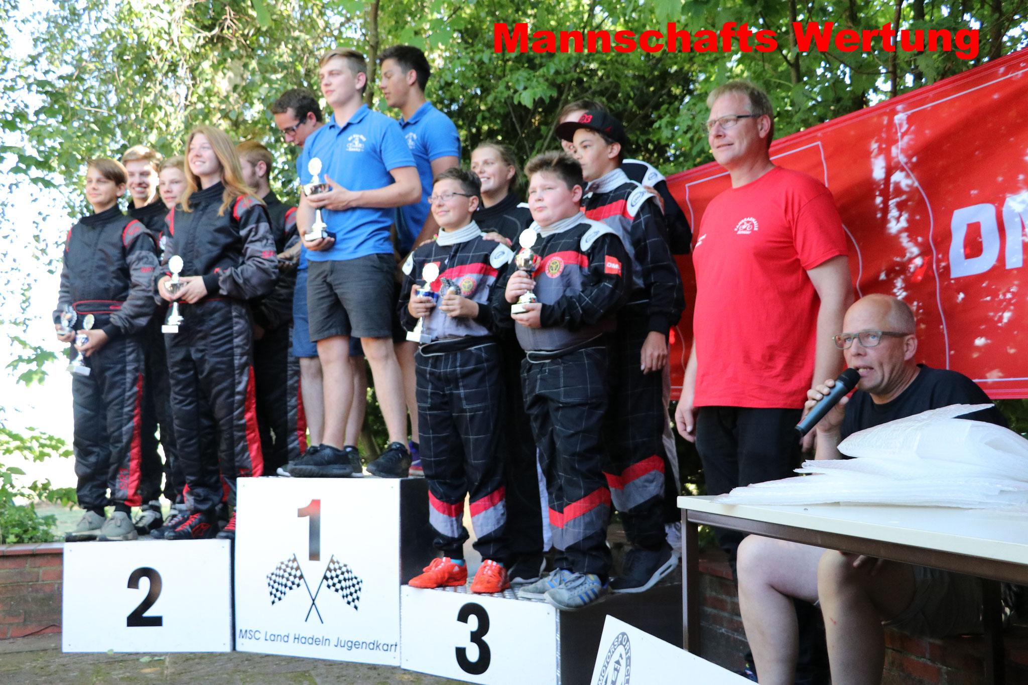 Die Fahrer vom MSC Land Hadeln 1 wurden Norddeutsche Vizemeister