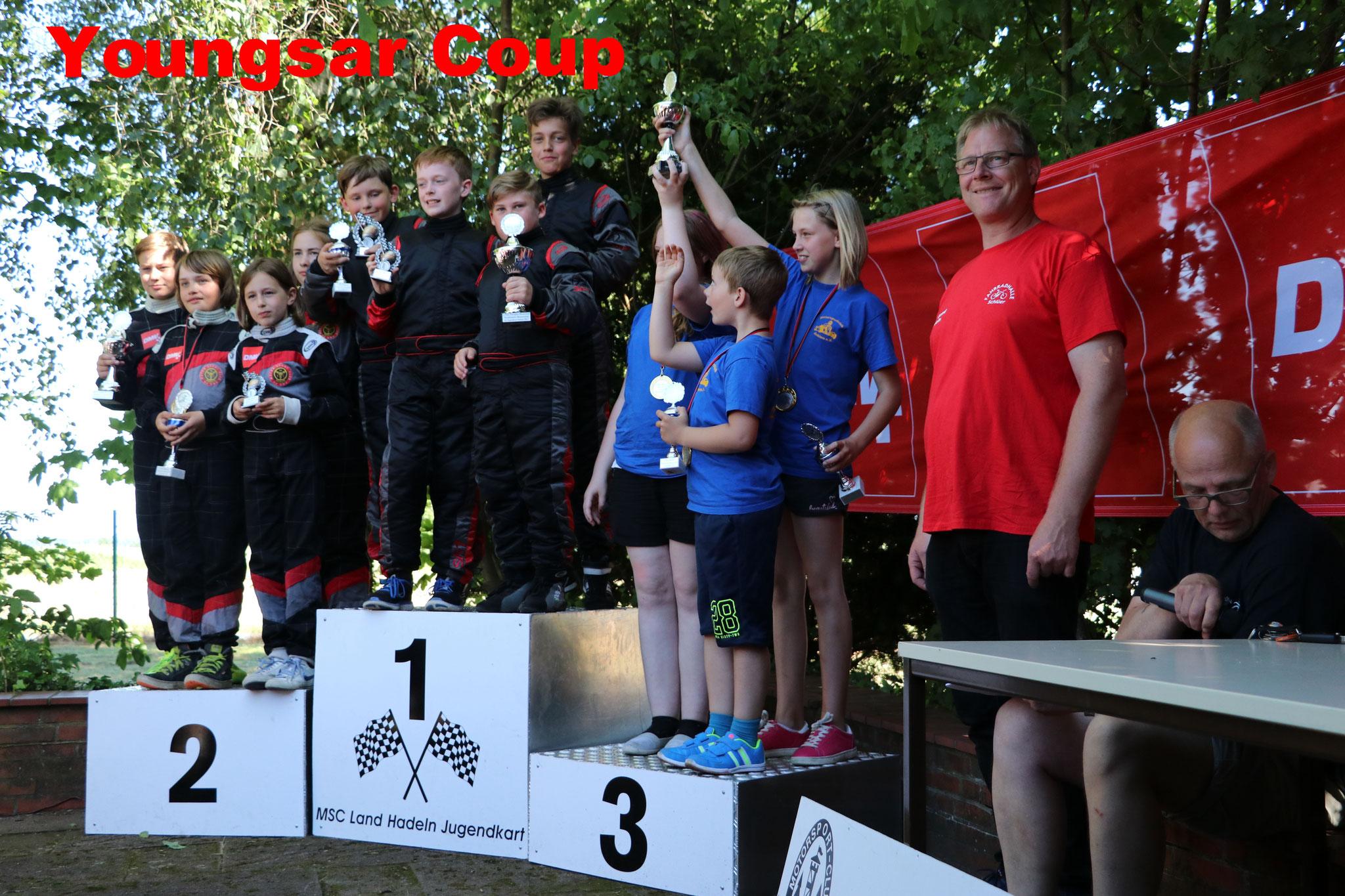 Die Youngstars MSC Land Hadeln 1 wurden Norddeutsche Meister