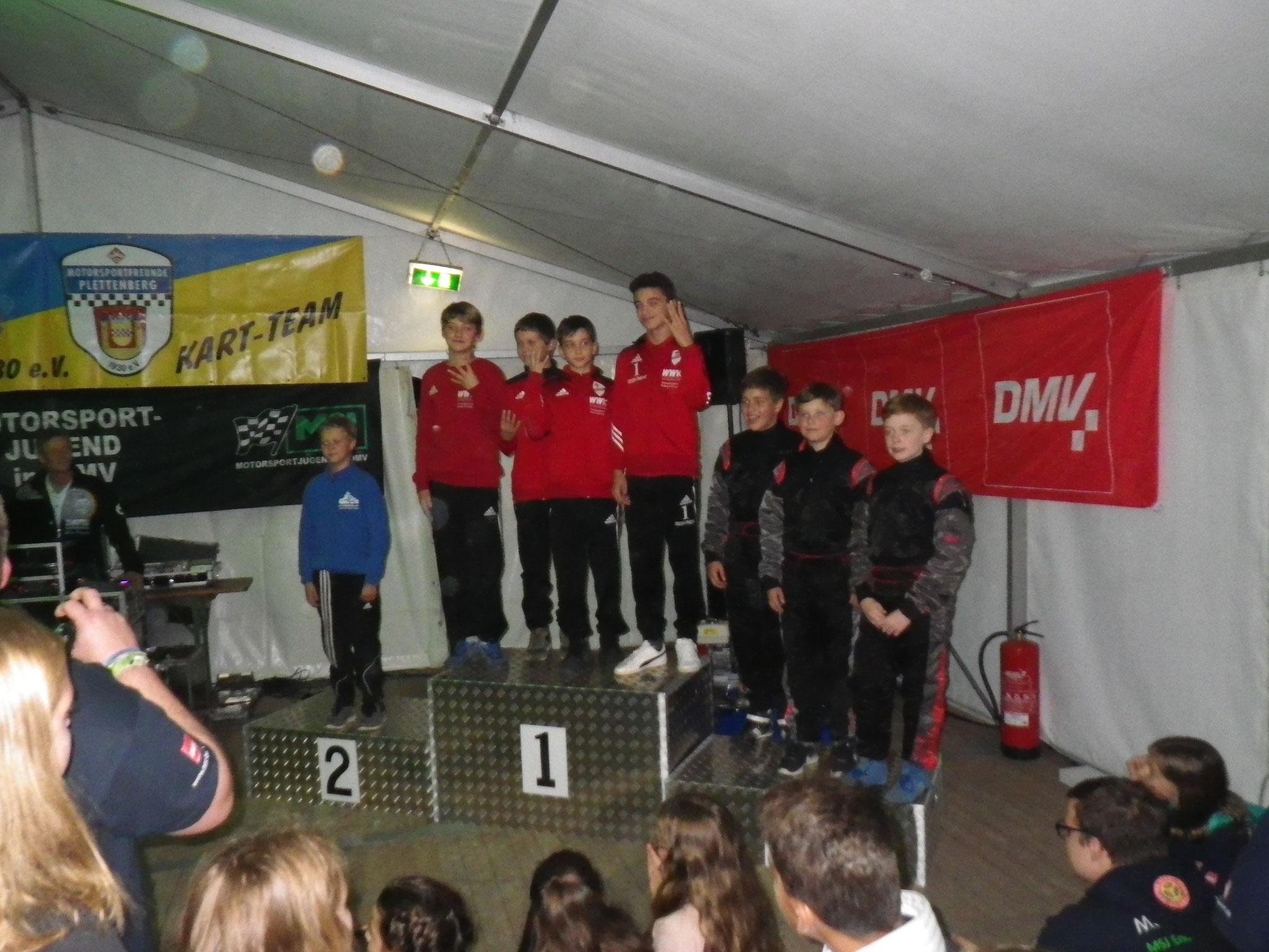 Youngstars MSC Land Hadeln 1 auf Platz 3