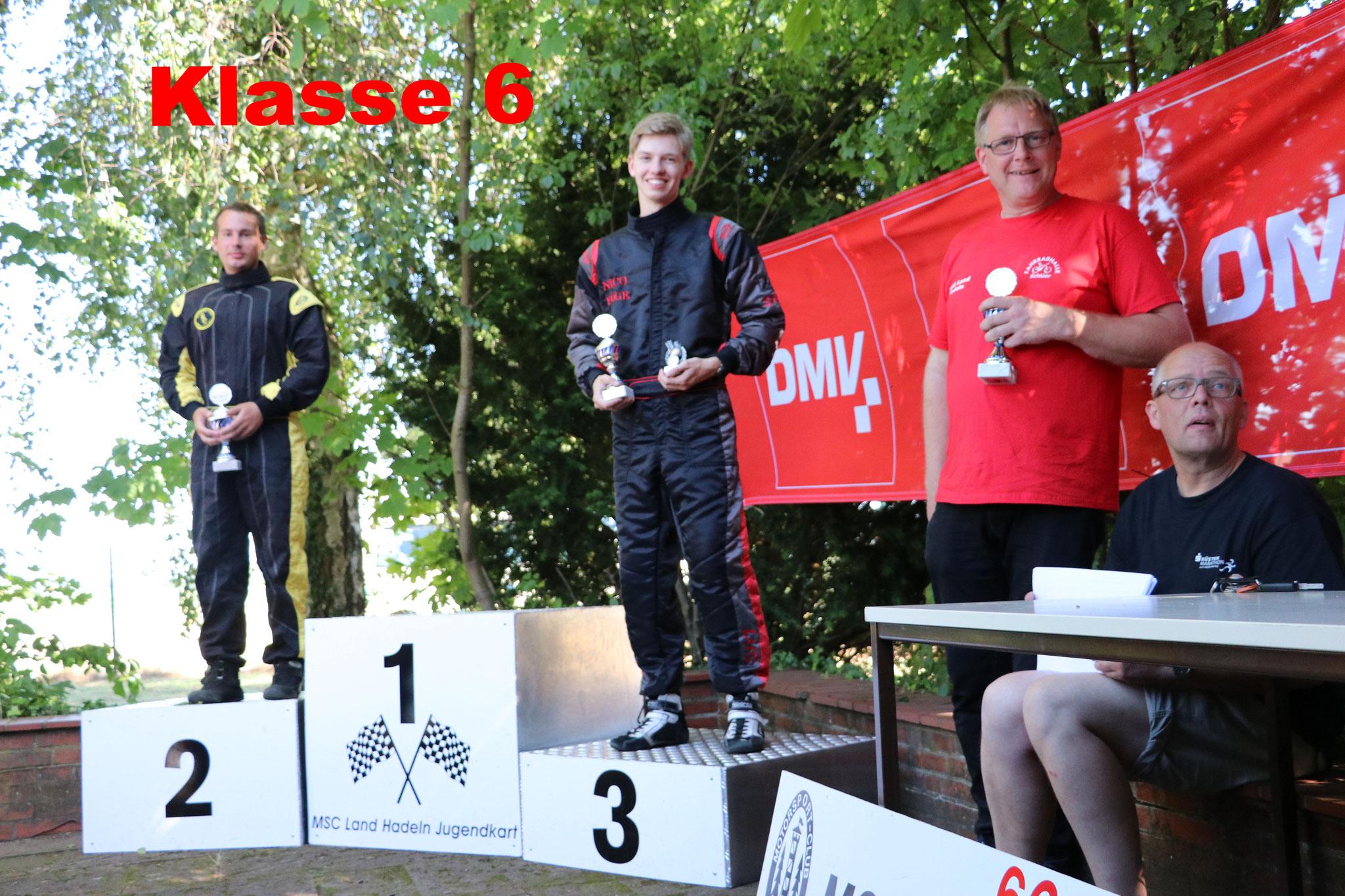 Nico Föge wurde Dritter in der Norddeutschen Meisterschaft
